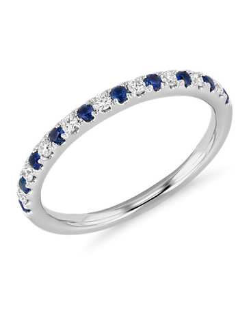 "Blue Nile ""Riviera"" Ring"