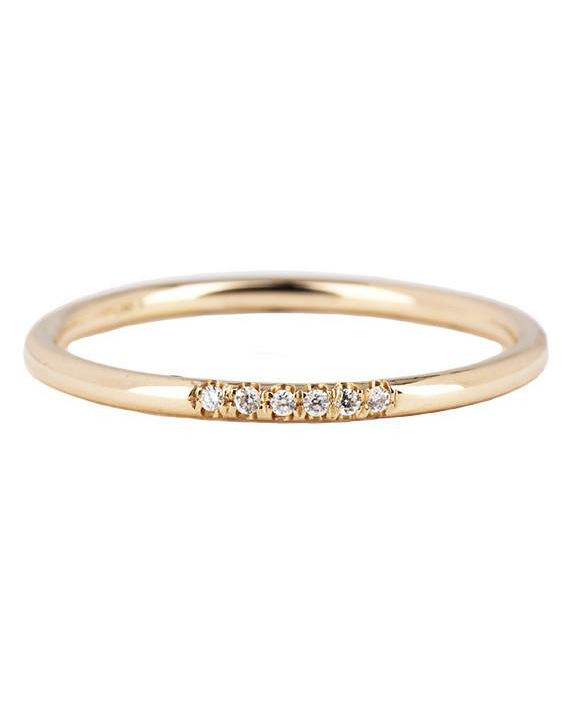 Jennie Kwon Designs Semi-Pave Ring