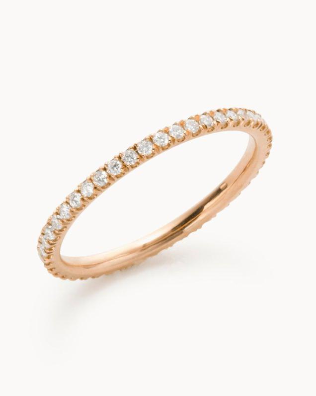 "Vrai & Oro ""The Infinity"" Ring"