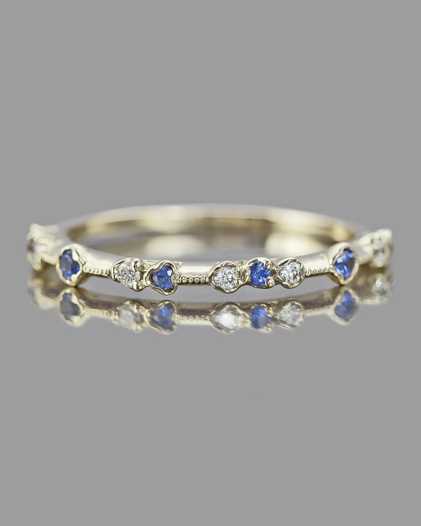Kataoka Sapphire Dotted Ring