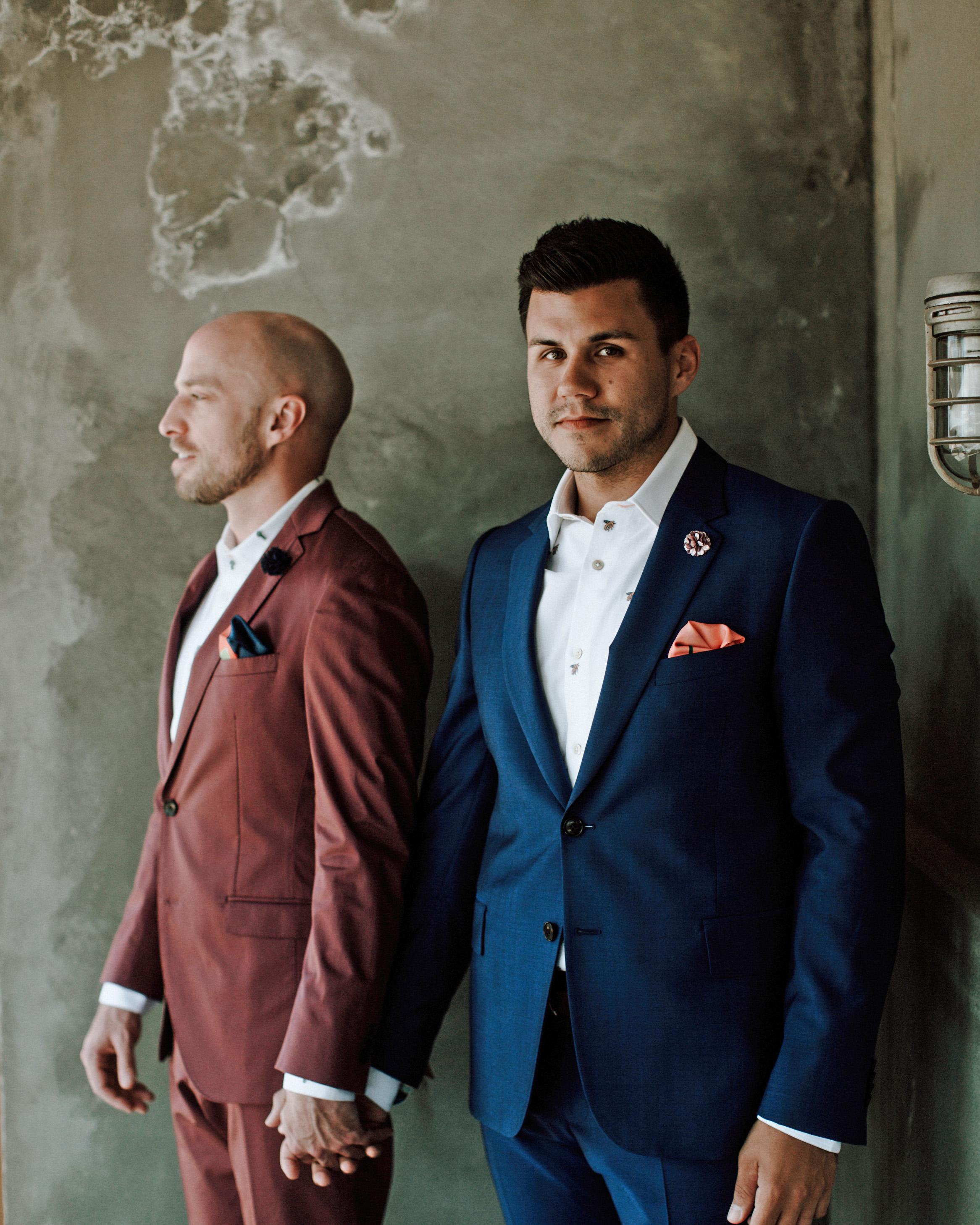 colorful wedding suits joseph west