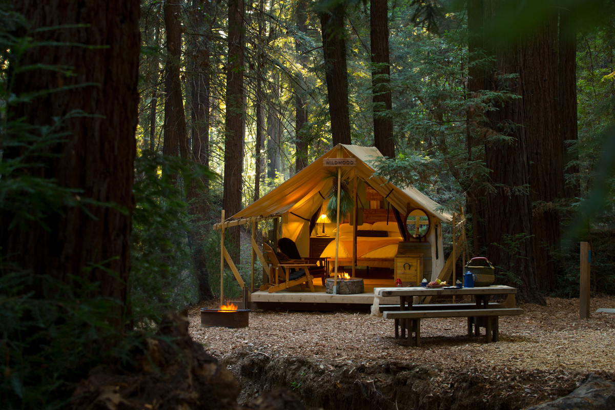 glamping bachelorette retreats ventana big sur