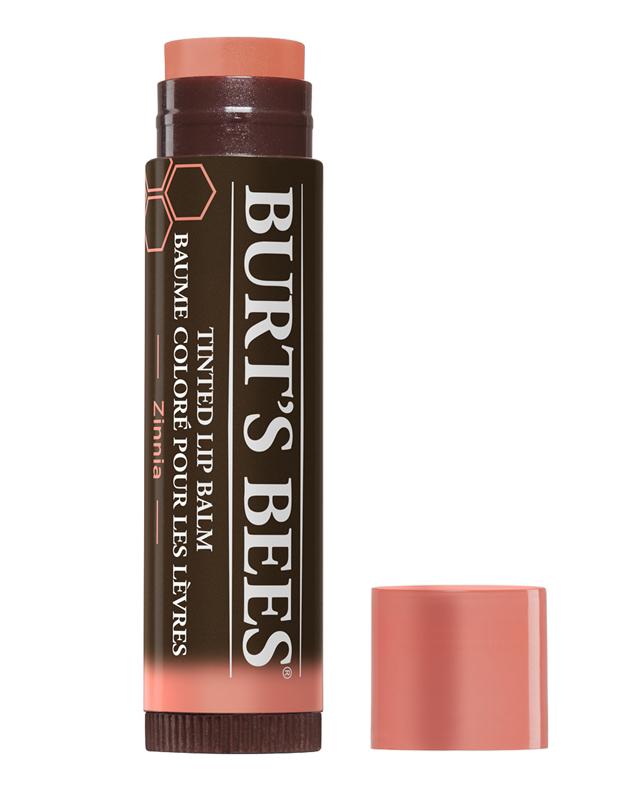 "Burt's Bees Tinted Lip Balm in ""Zinnia"""