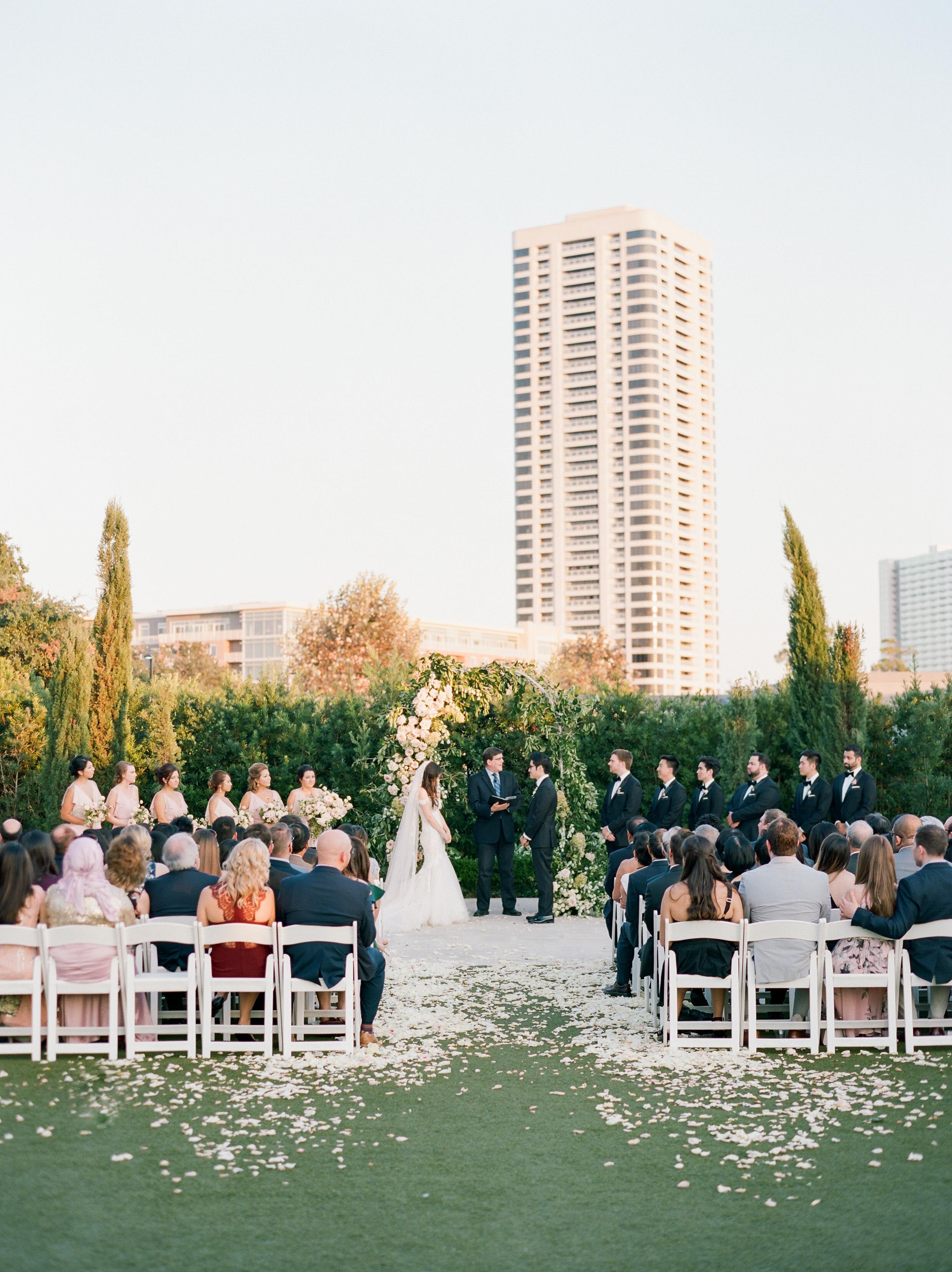 texas wedding ceremony