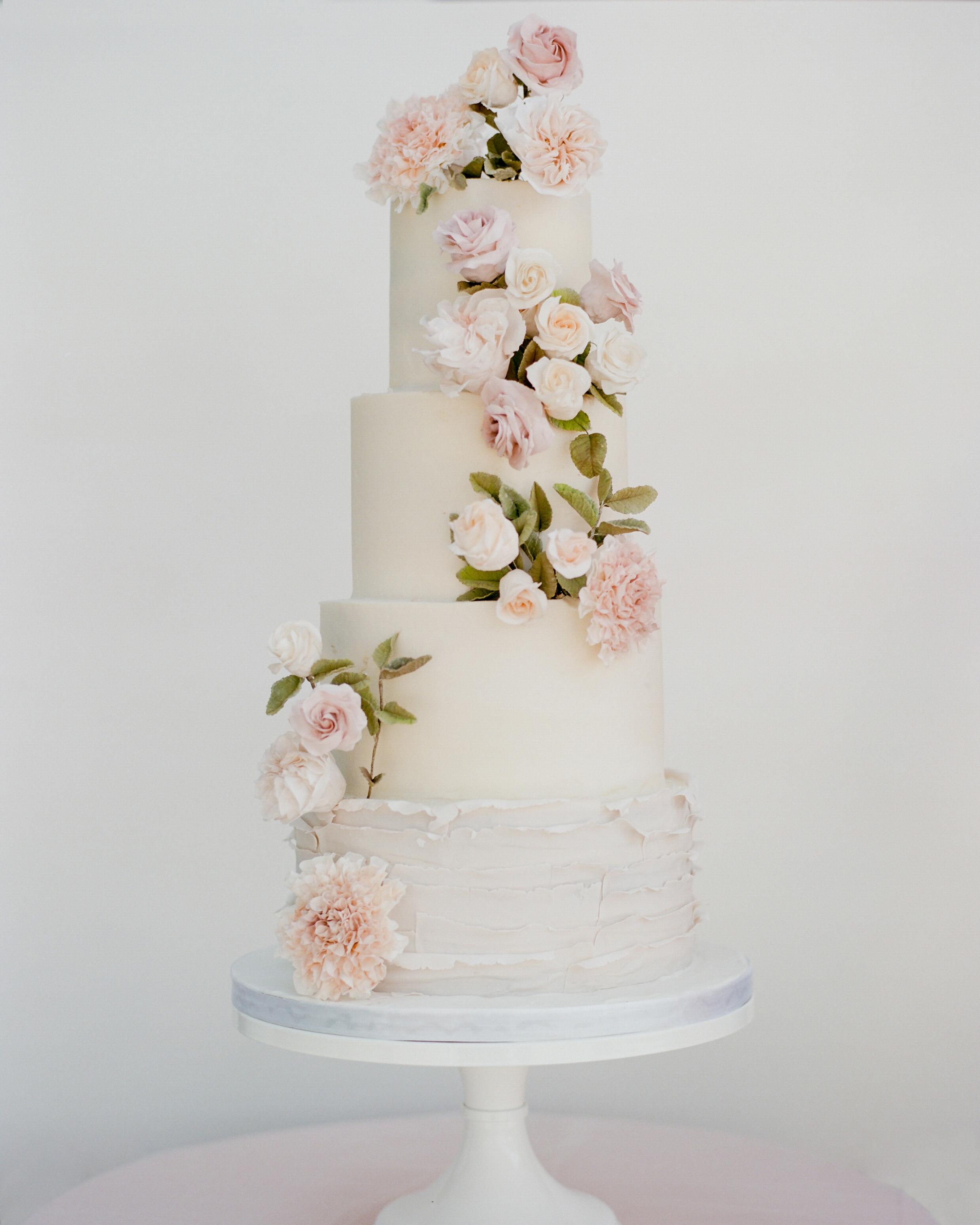 texas wedding cake flowers