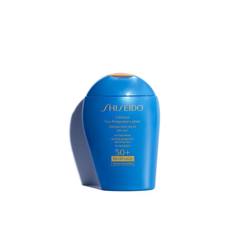 beach beauty tom shiseido sunscreen