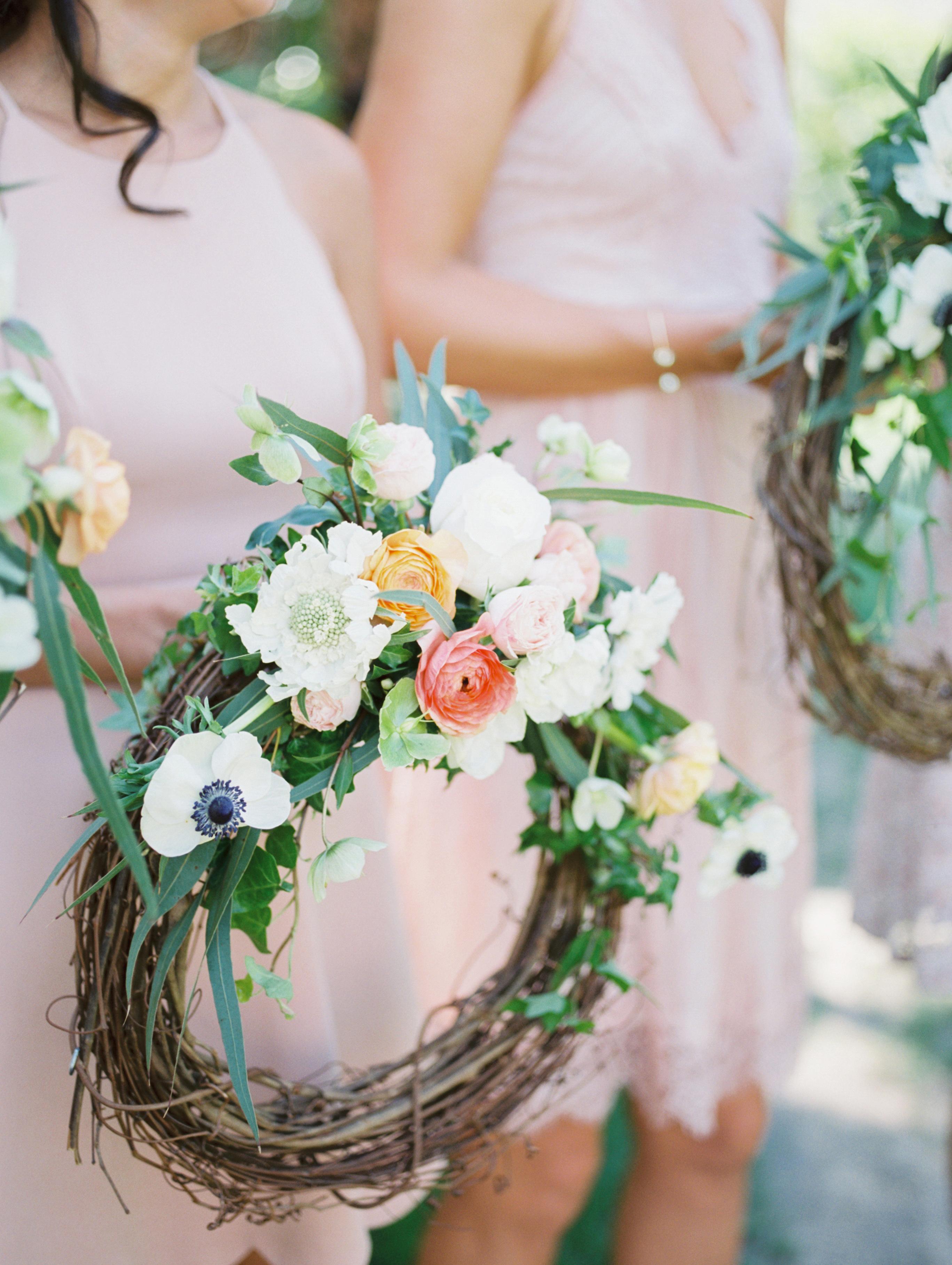 hoops bouquets amanda k photoart