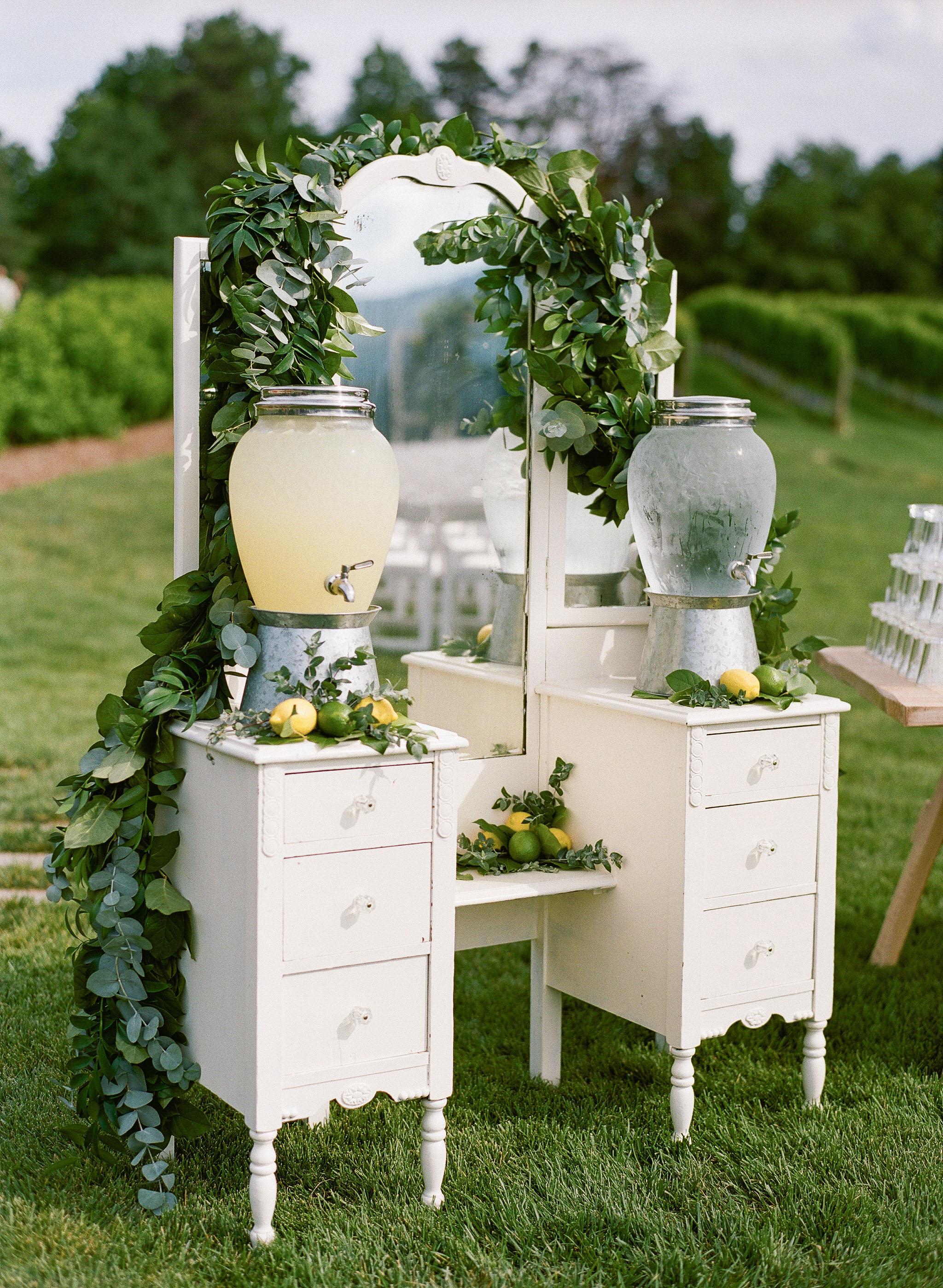 hydration stations vintage dresser
