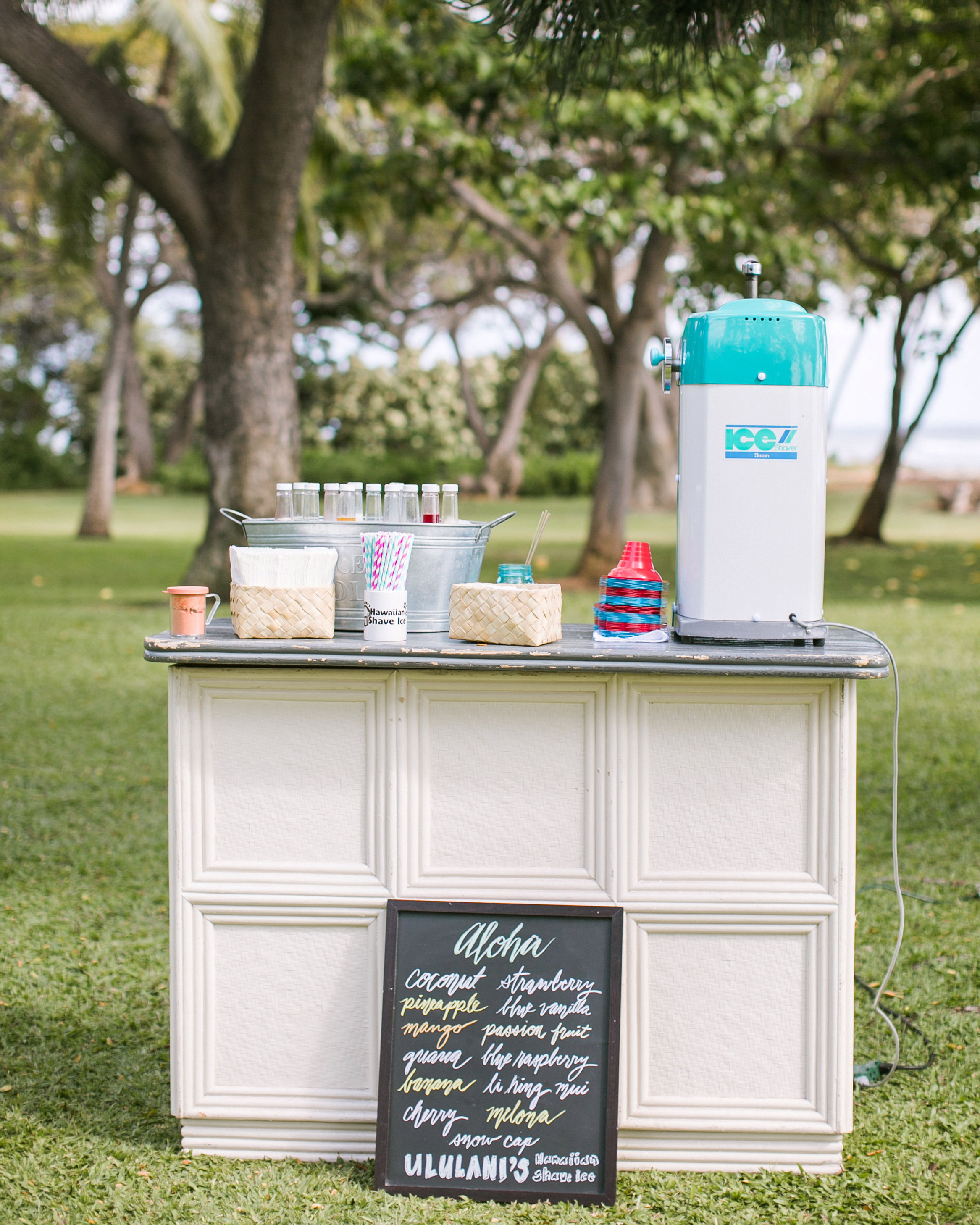 hydration stations non alcoholic snow cones