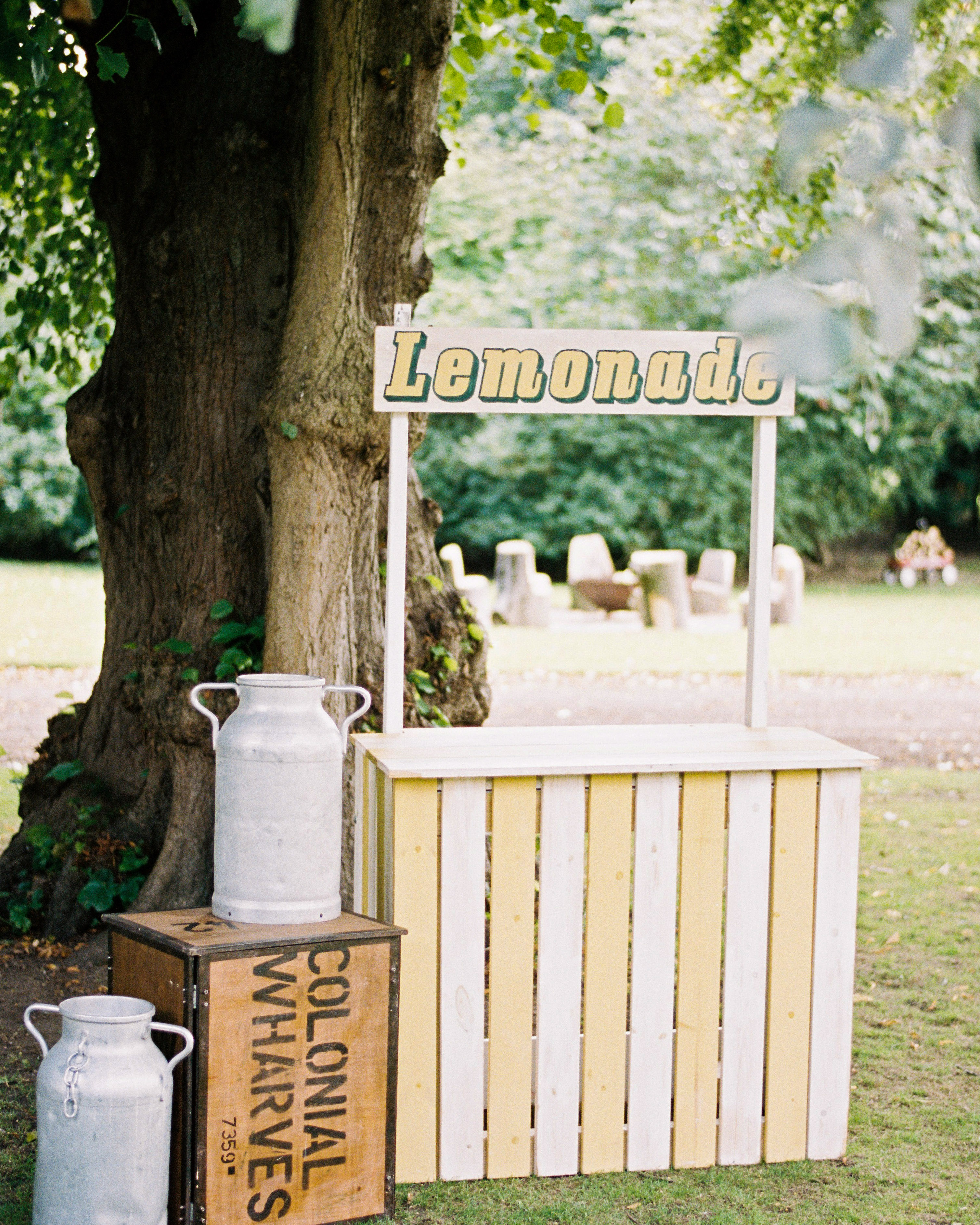 hydration stations non alcoholic lemonade stand