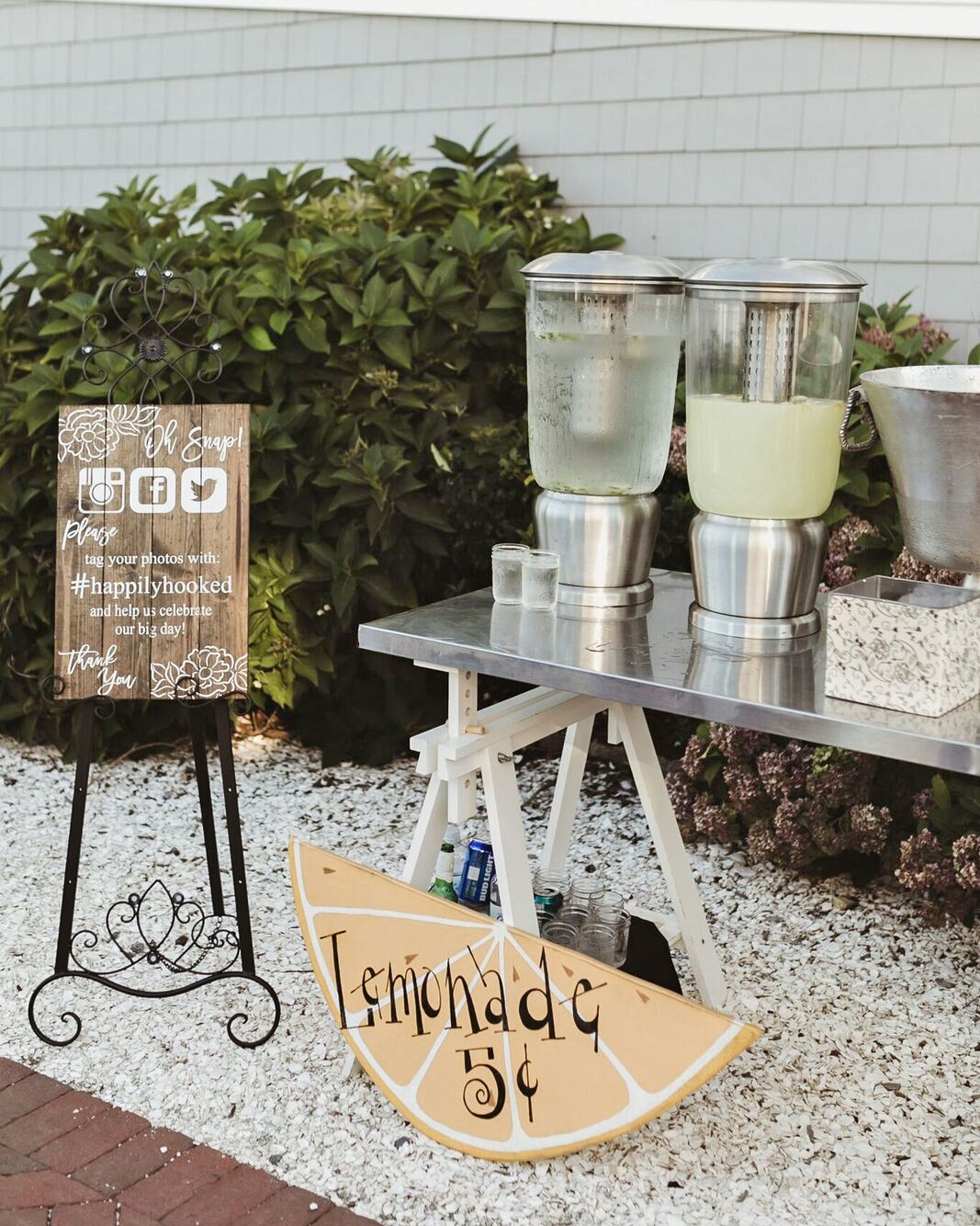 hydration stations non alcoholic lemonade stand with a twist