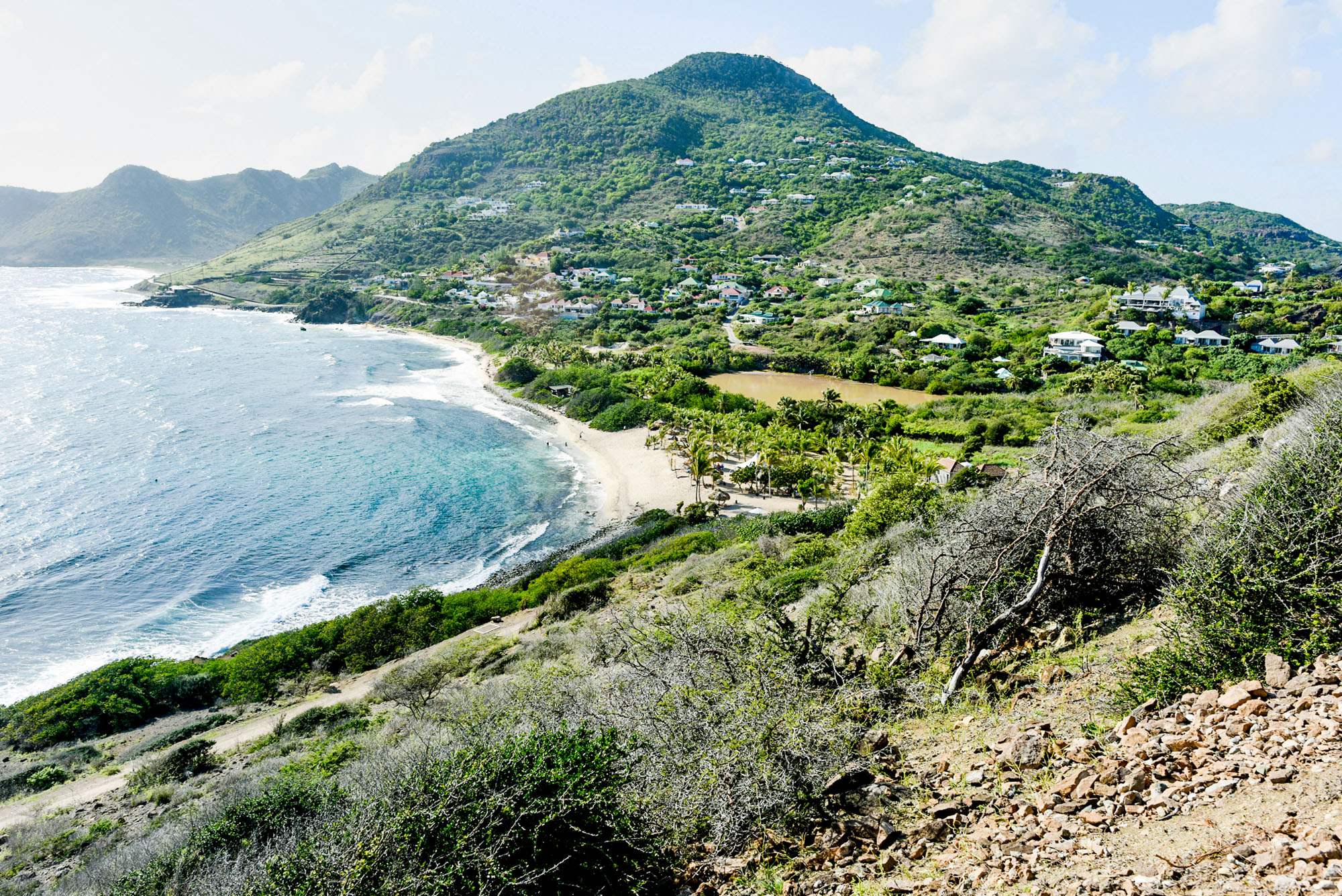 travel honeymoon st. barts toiny beach