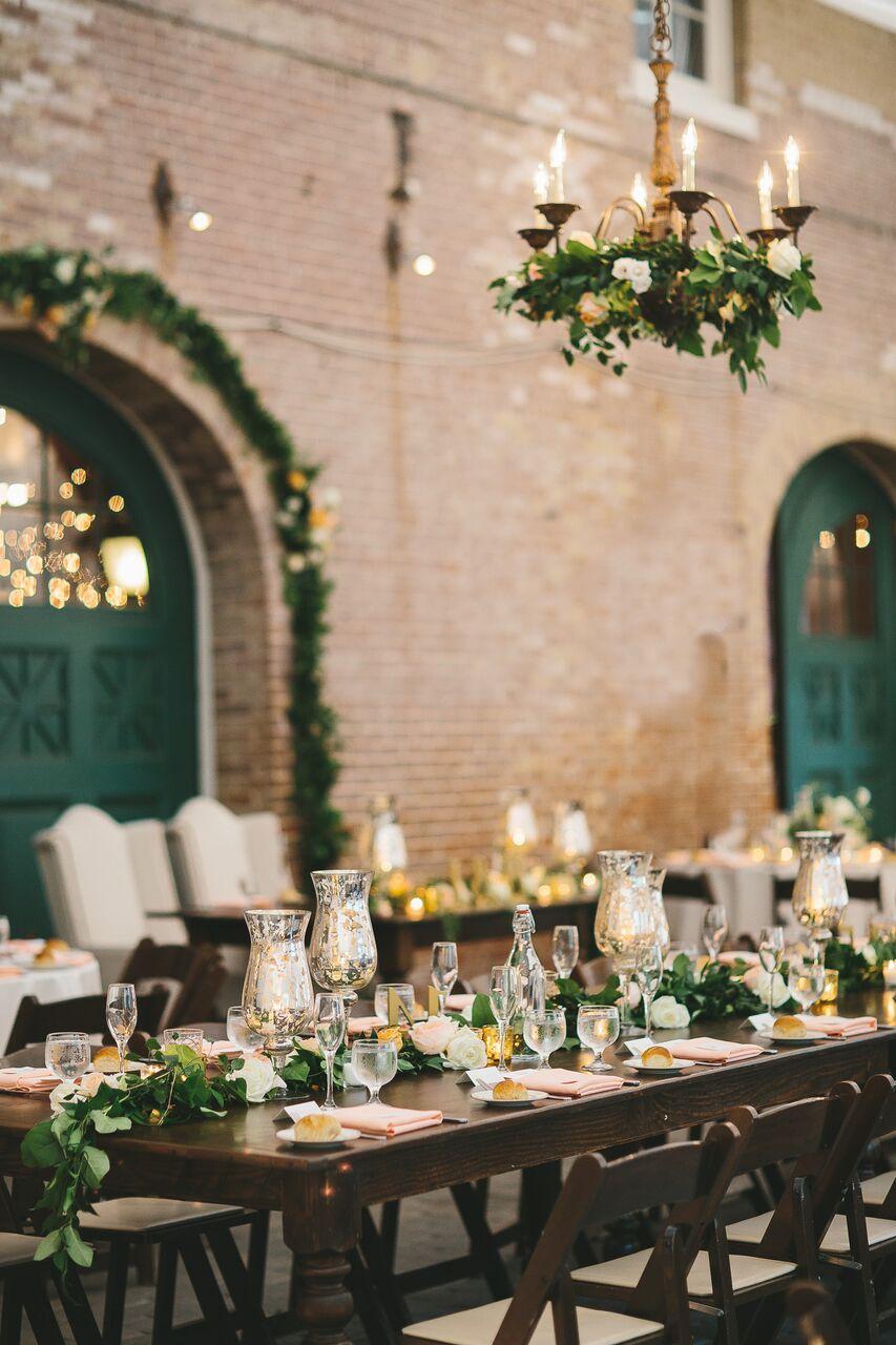 mercury glass wedding centerpieces
