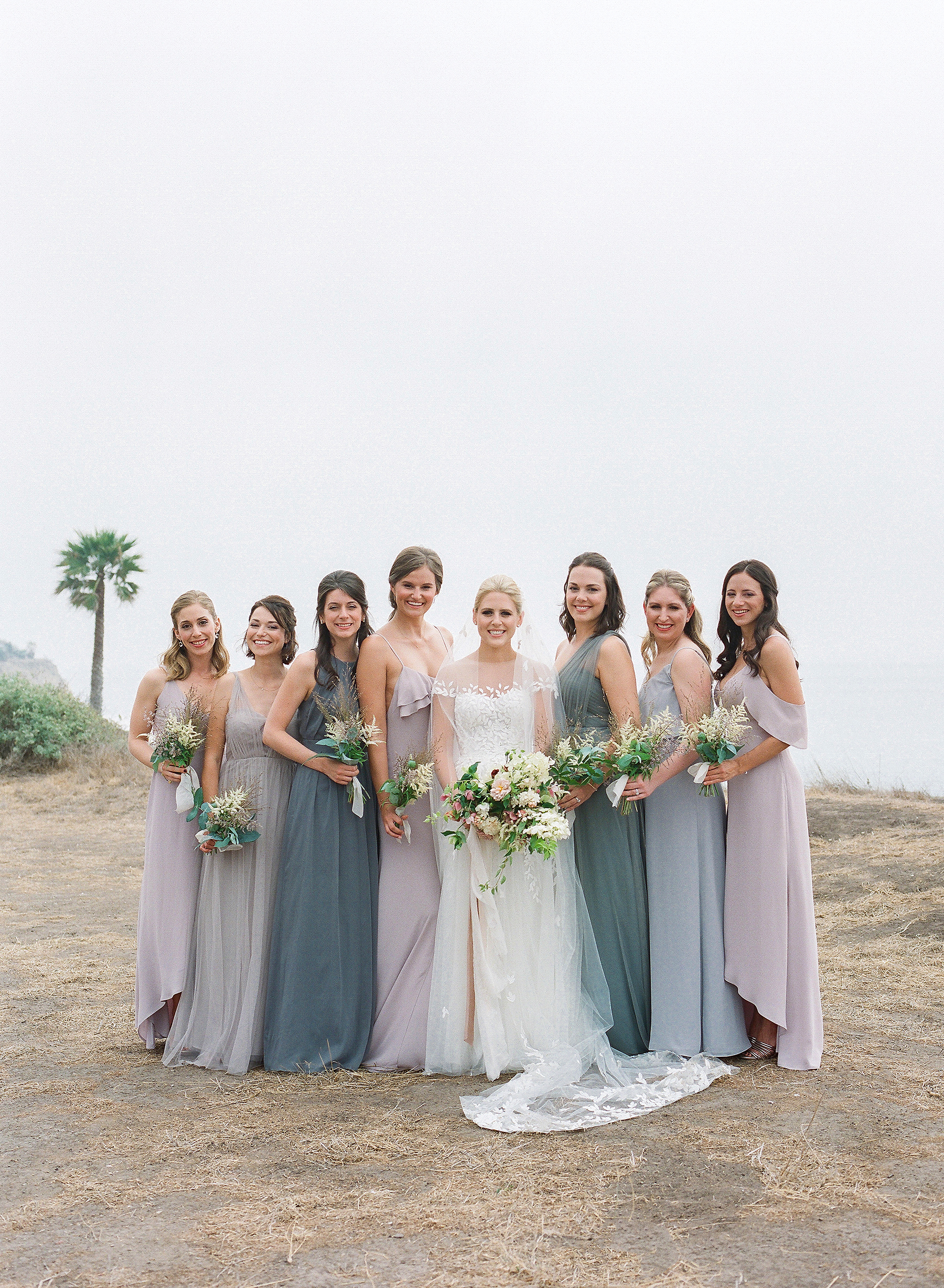 Emma mike California wedding Corbin gurkin bridesmaids