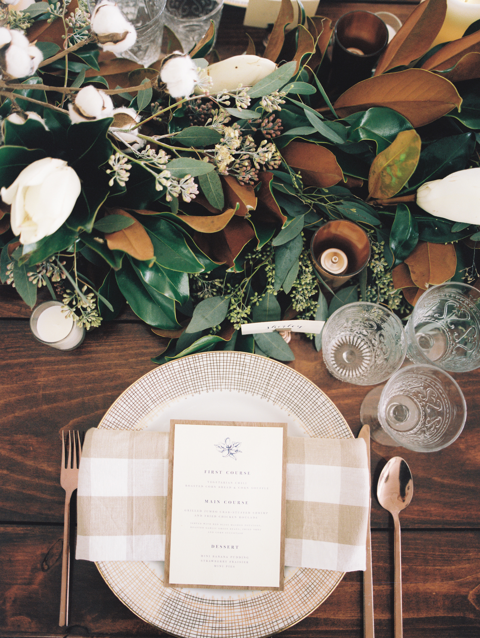 One Couple's Refined Fall Wedding at the Bride's Family Home in Virginia