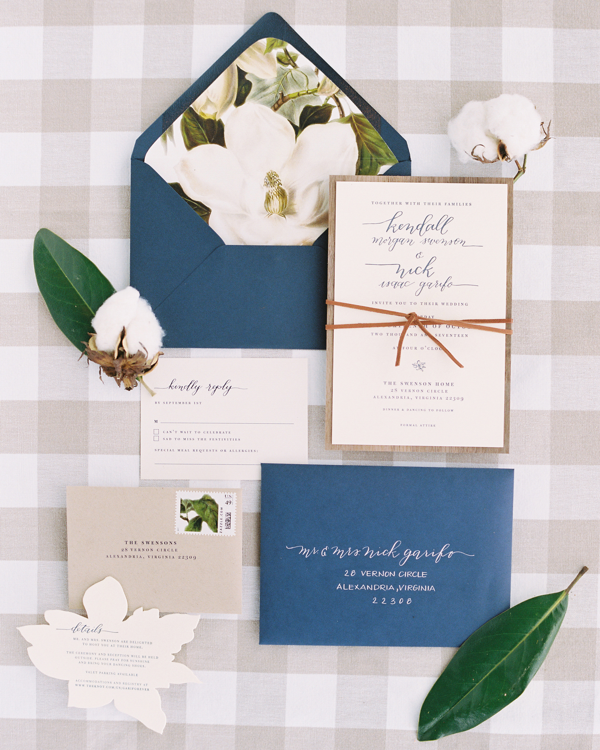 One Couple's Refined Fall Wedding at the Bride's Family Home in