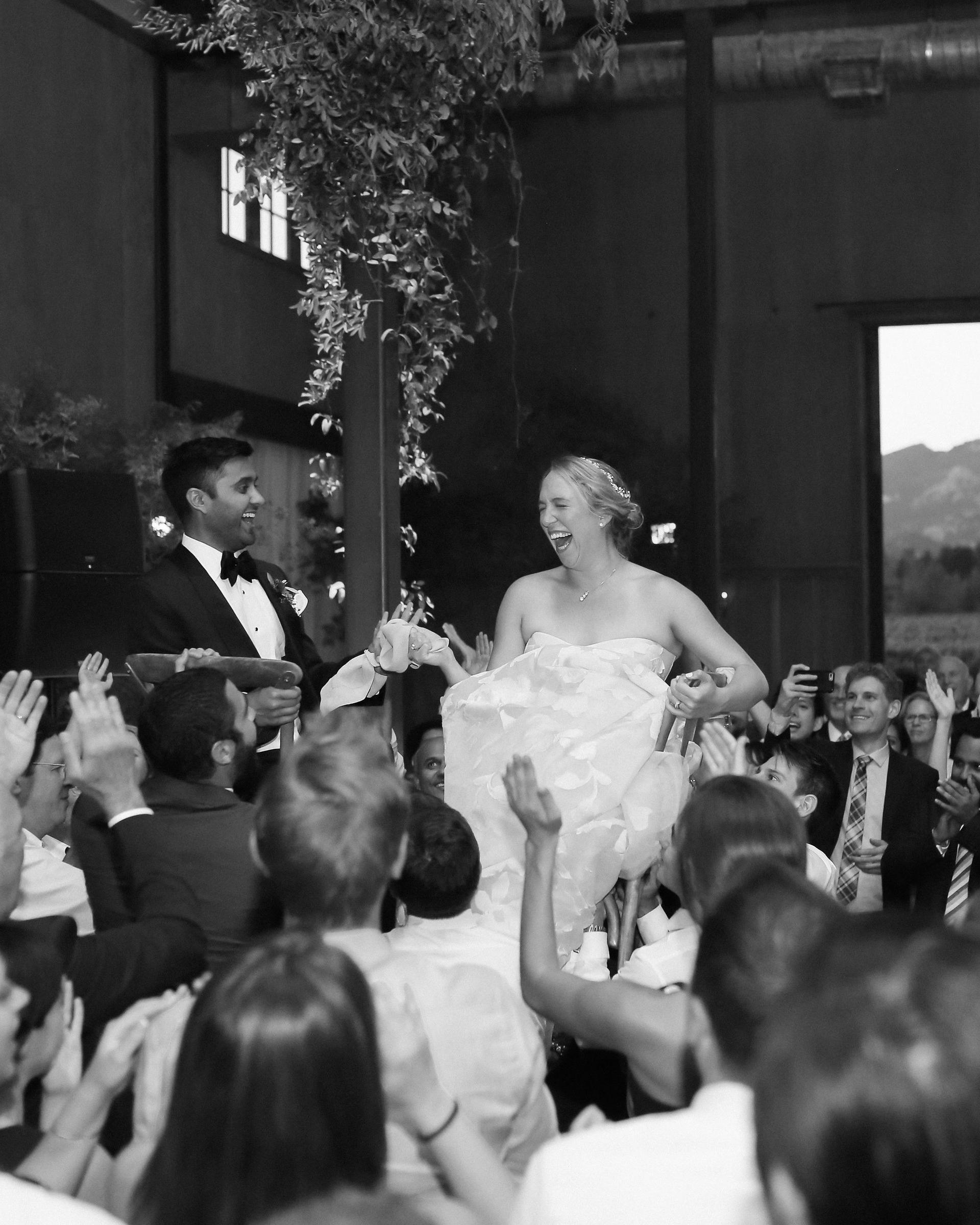 emily siddartha wedding hora bw