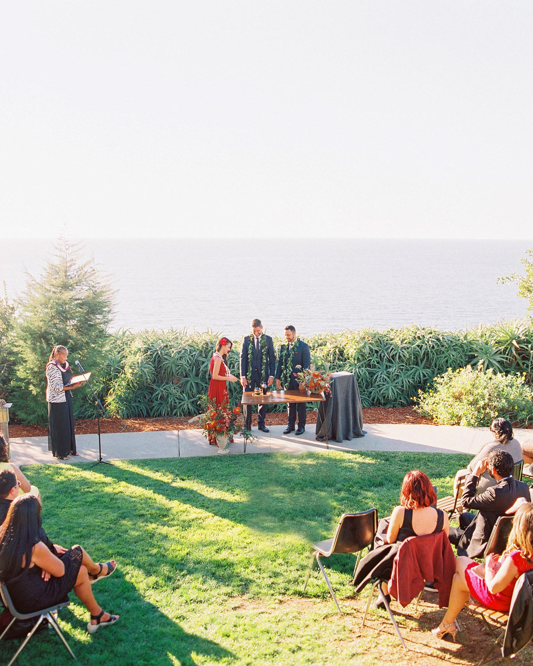 rob franco wedding ceremony