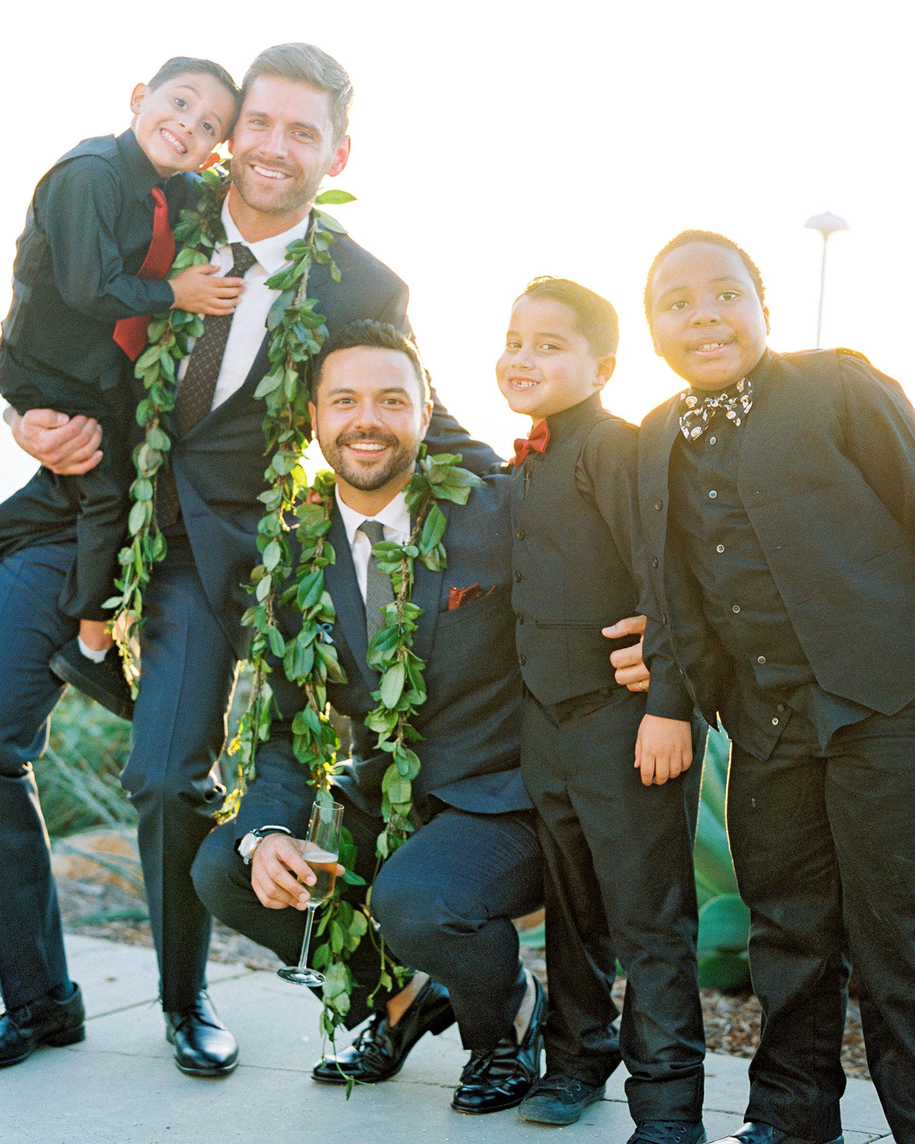 rob franco wedding kids
