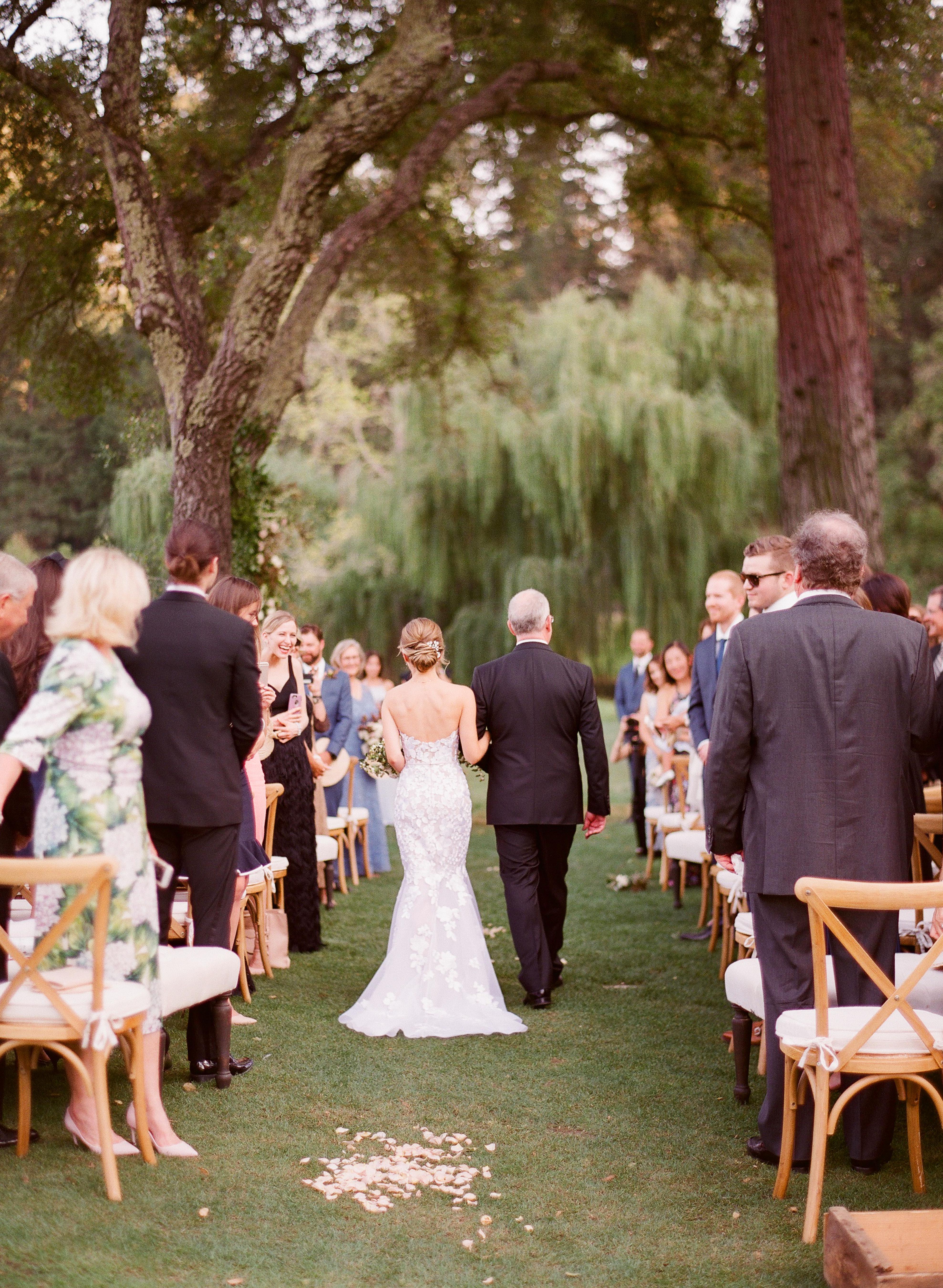 caitlin michael wedding processional