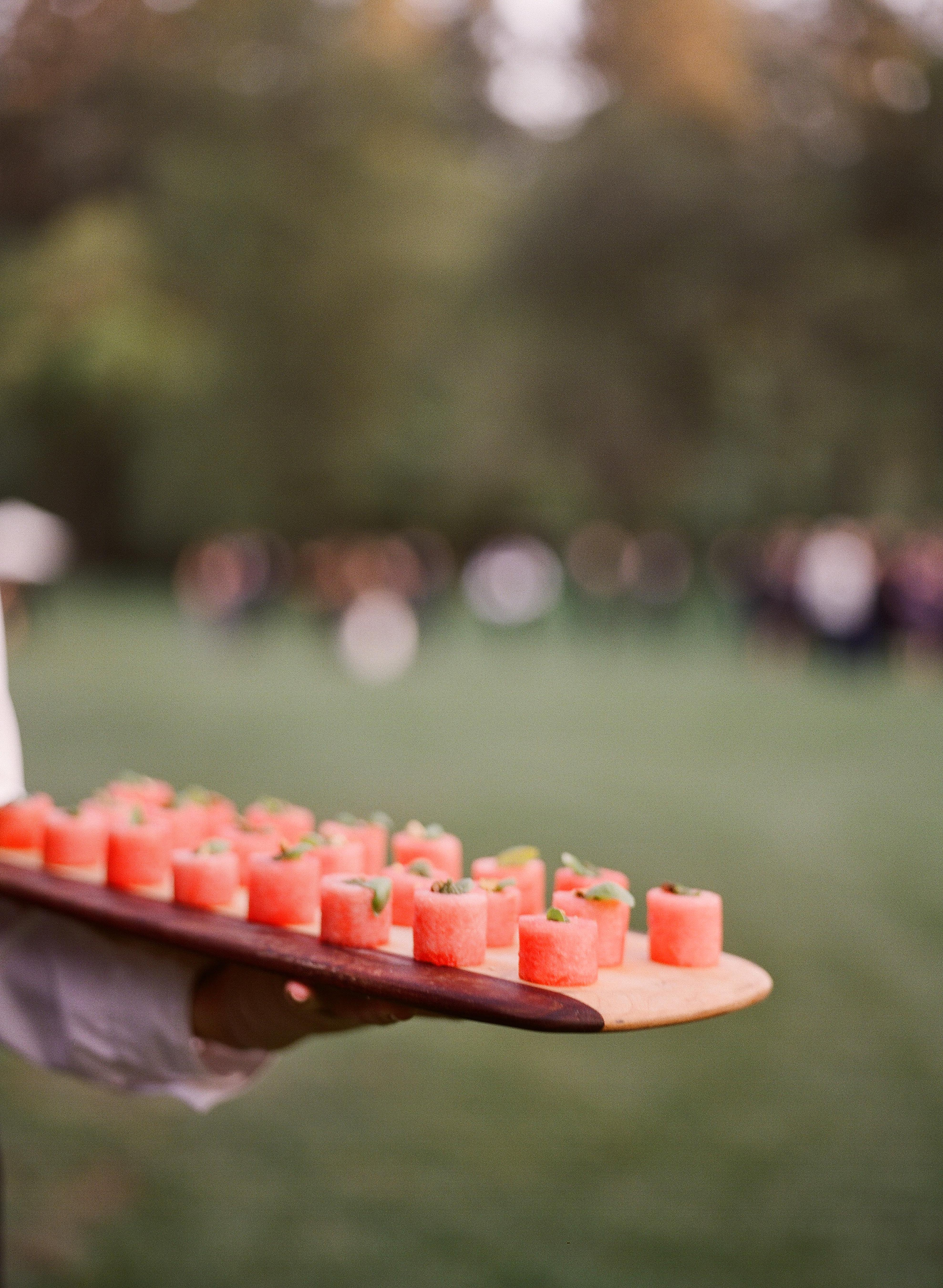 caitlin michael wedding appetizers