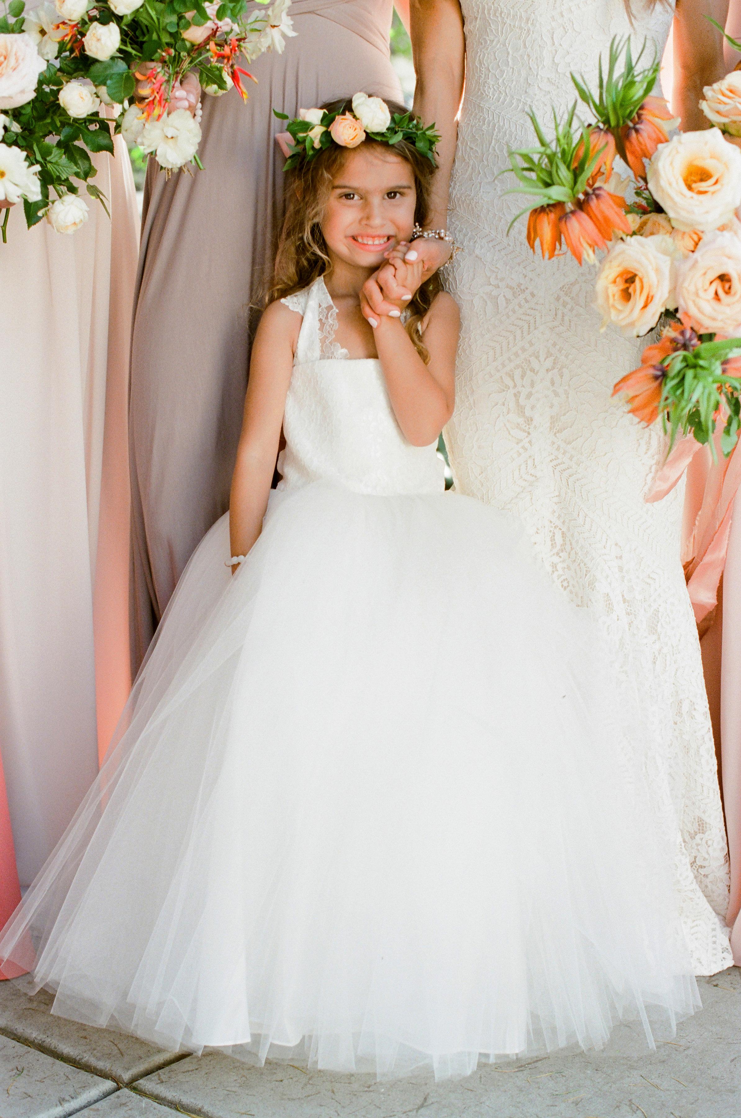 Tenley molzahn taylor leopold wedding flowergirl