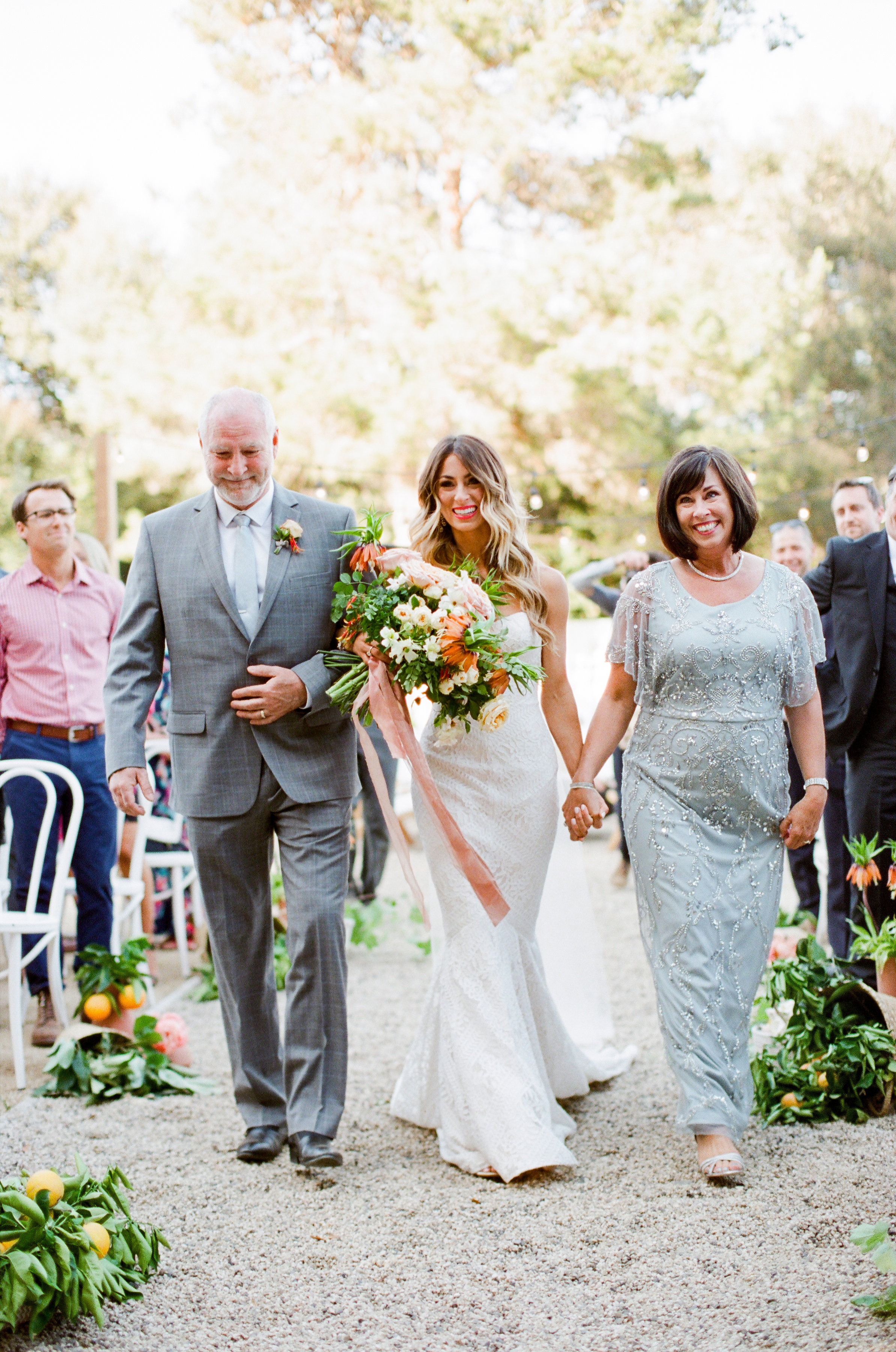 Tenley molzahn taylor leopold wedding processional bride