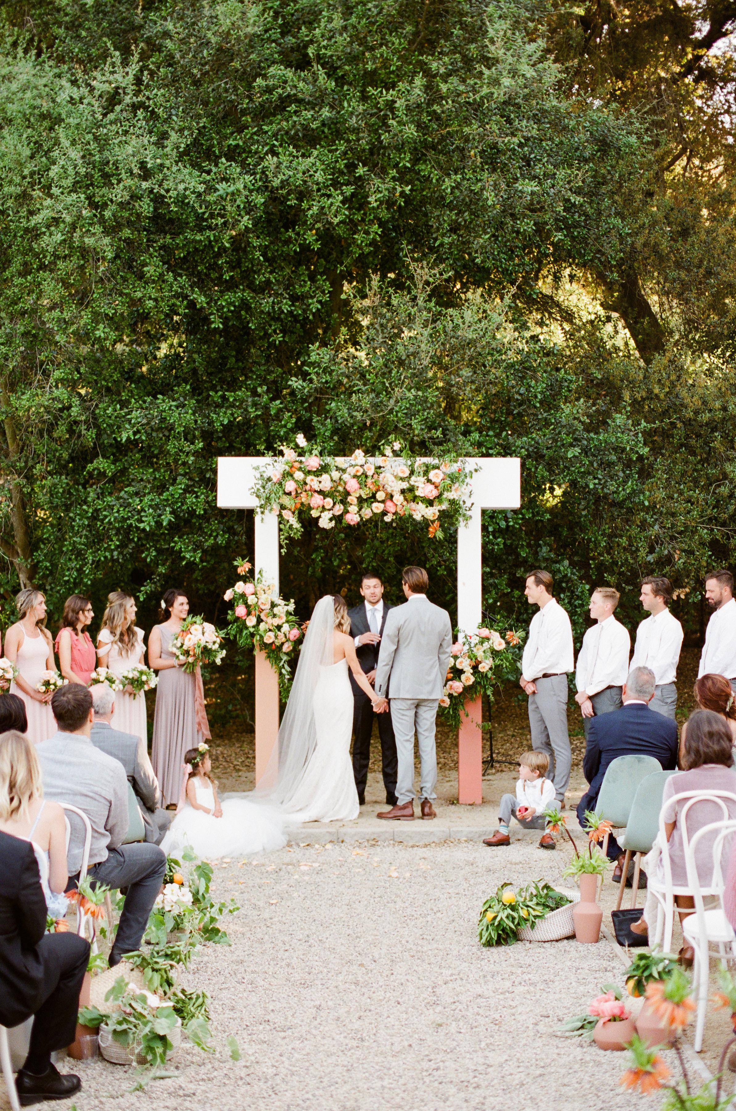 Tenley molzahn taylor leopold wedding ceremony