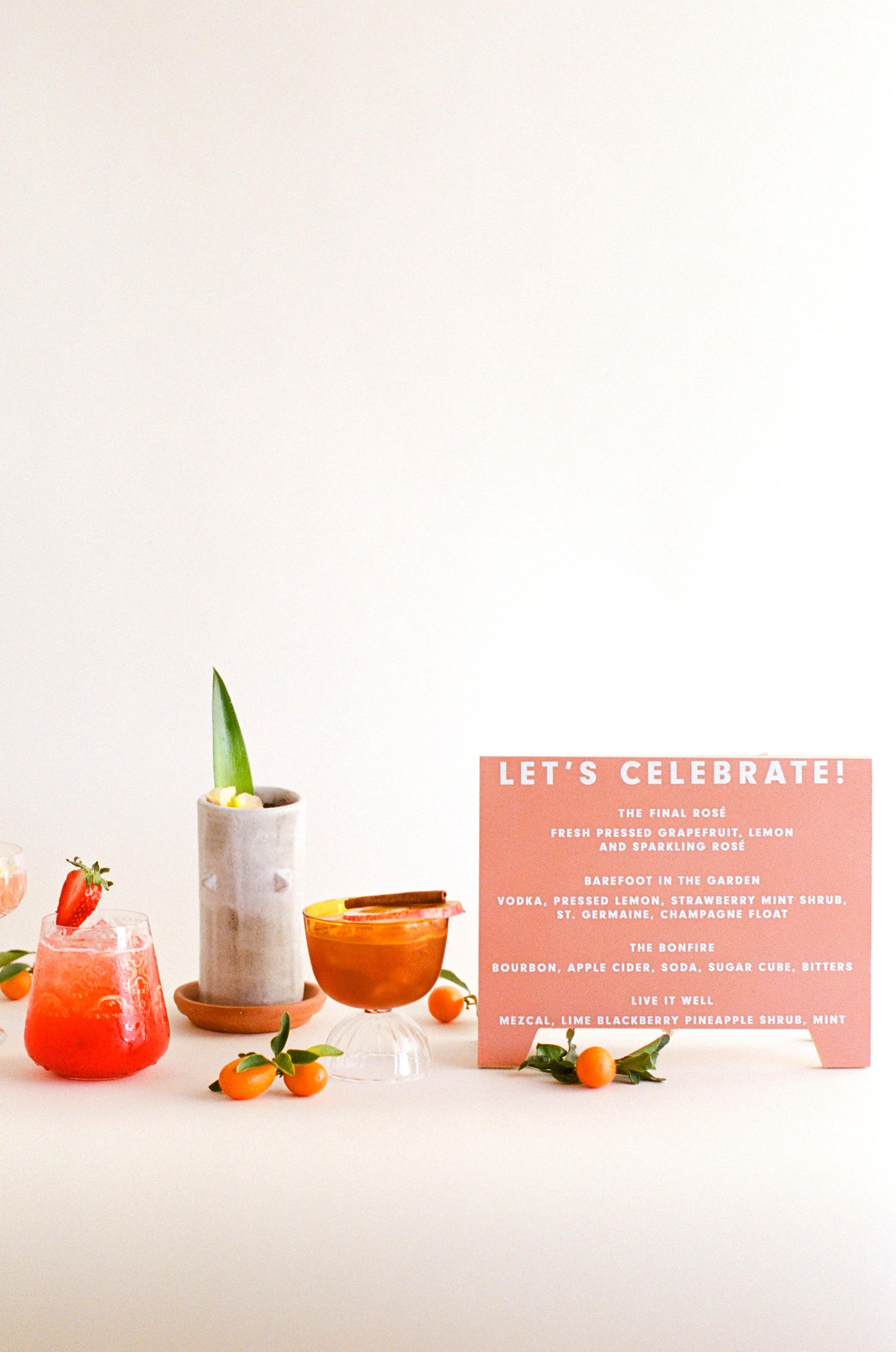 Tenley molzahn taylor leopold wedding drinks