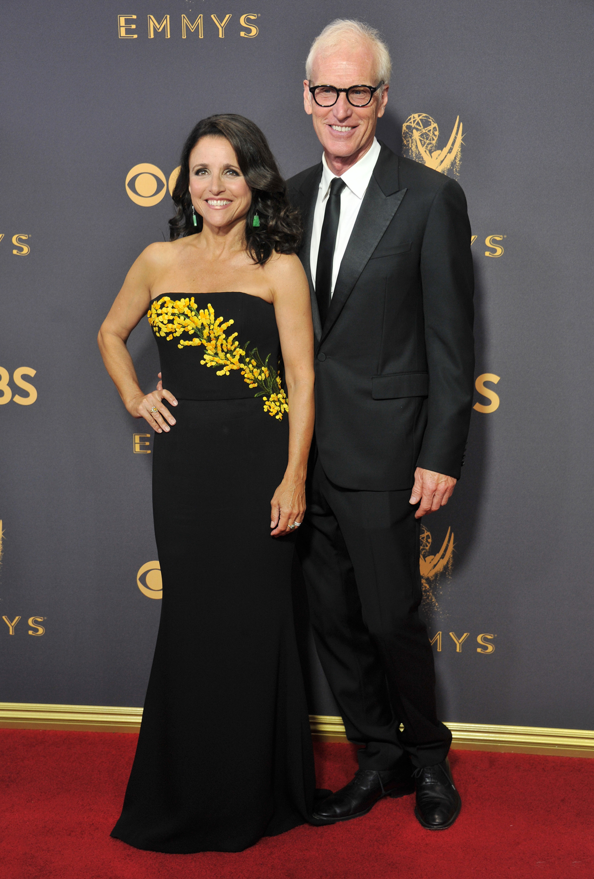longest celebrity relationships julia louis dreyfus brad hall getty