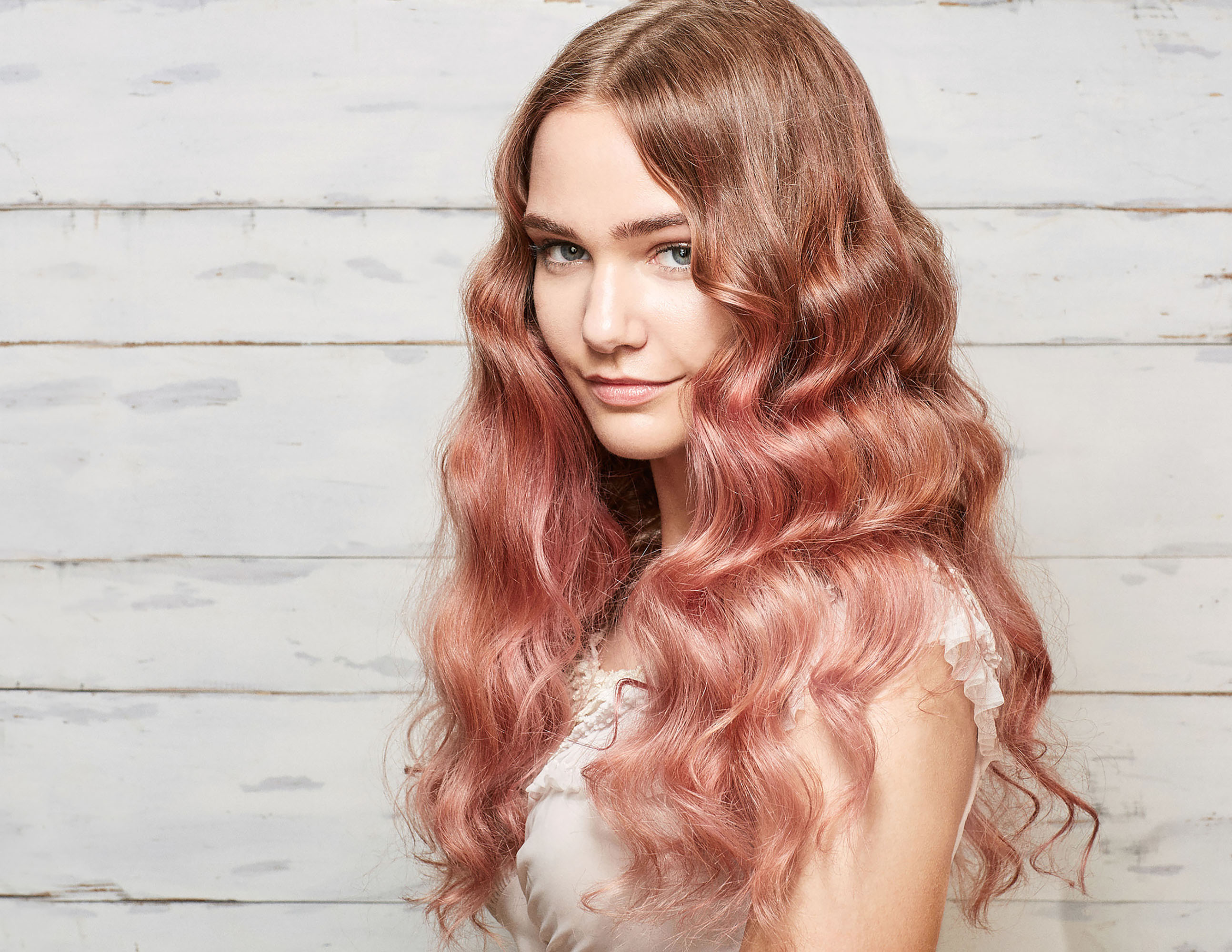 Here's How to Pull Off Millennial-Pink Hair at Your Wedding