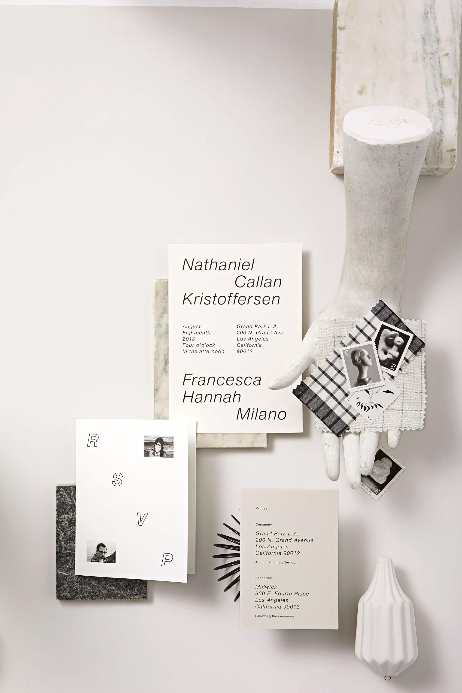 modern nuetral palette invites