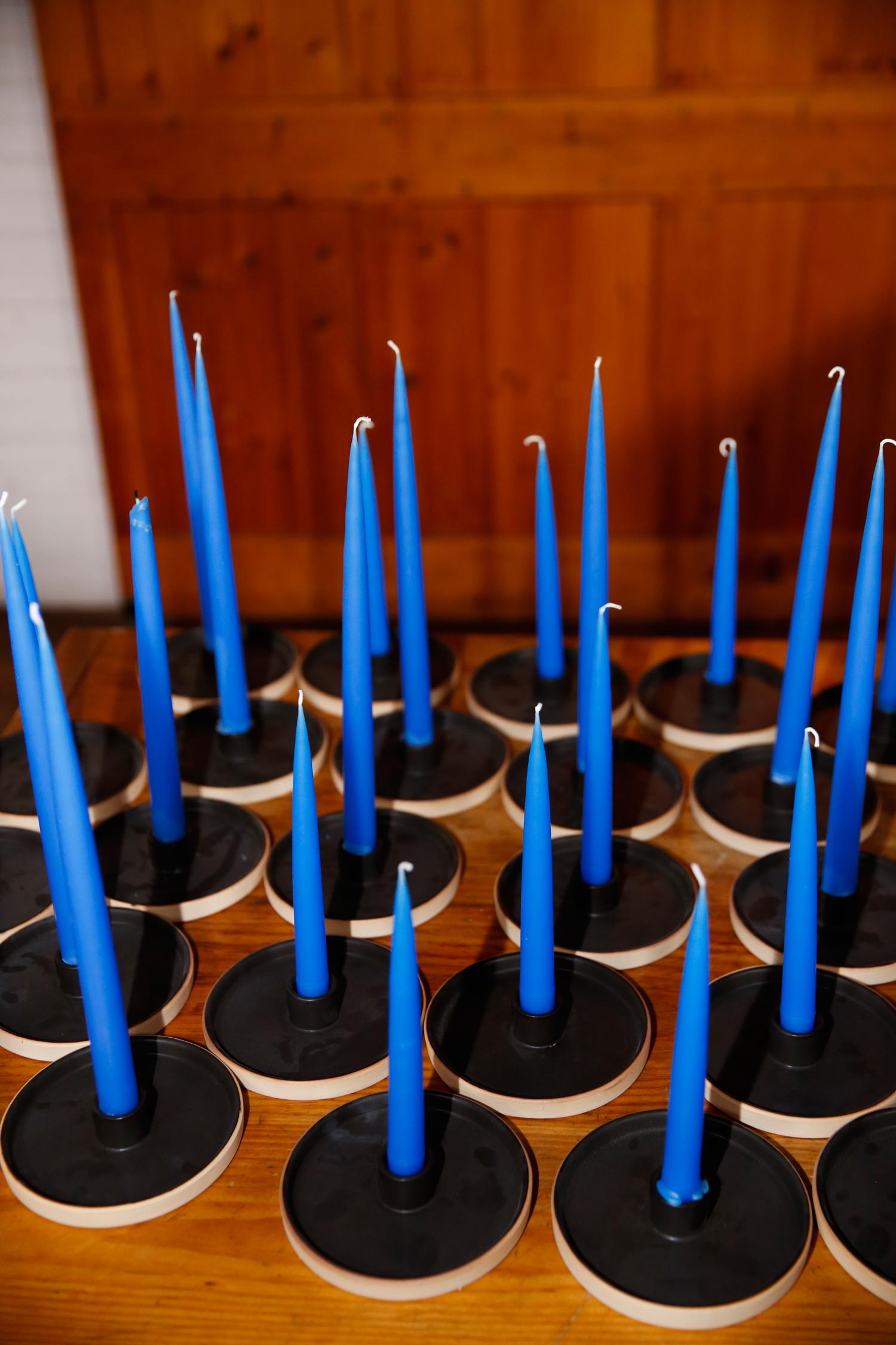 tory jonathan wedding candles