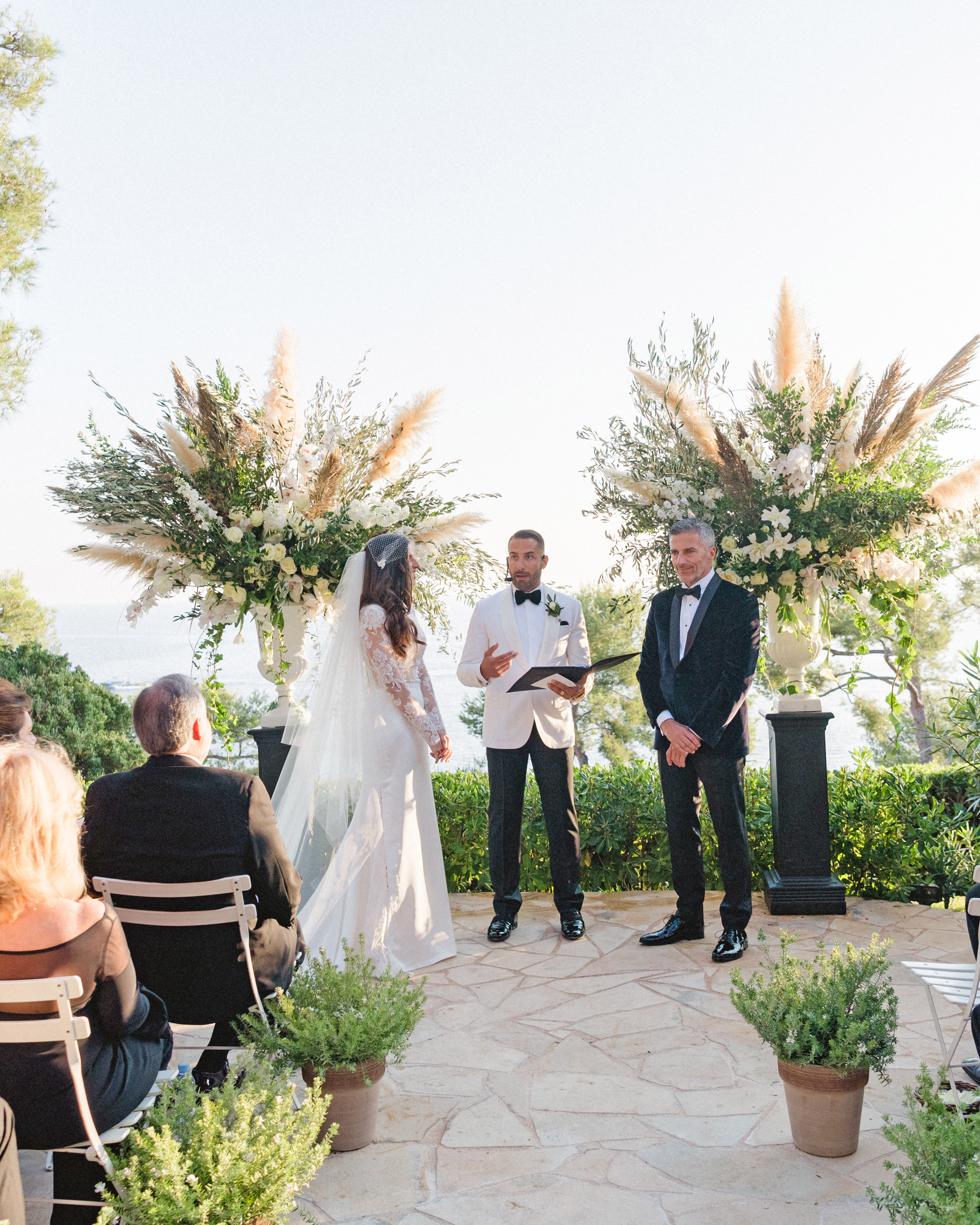 jiannina enzo wedding ceremony