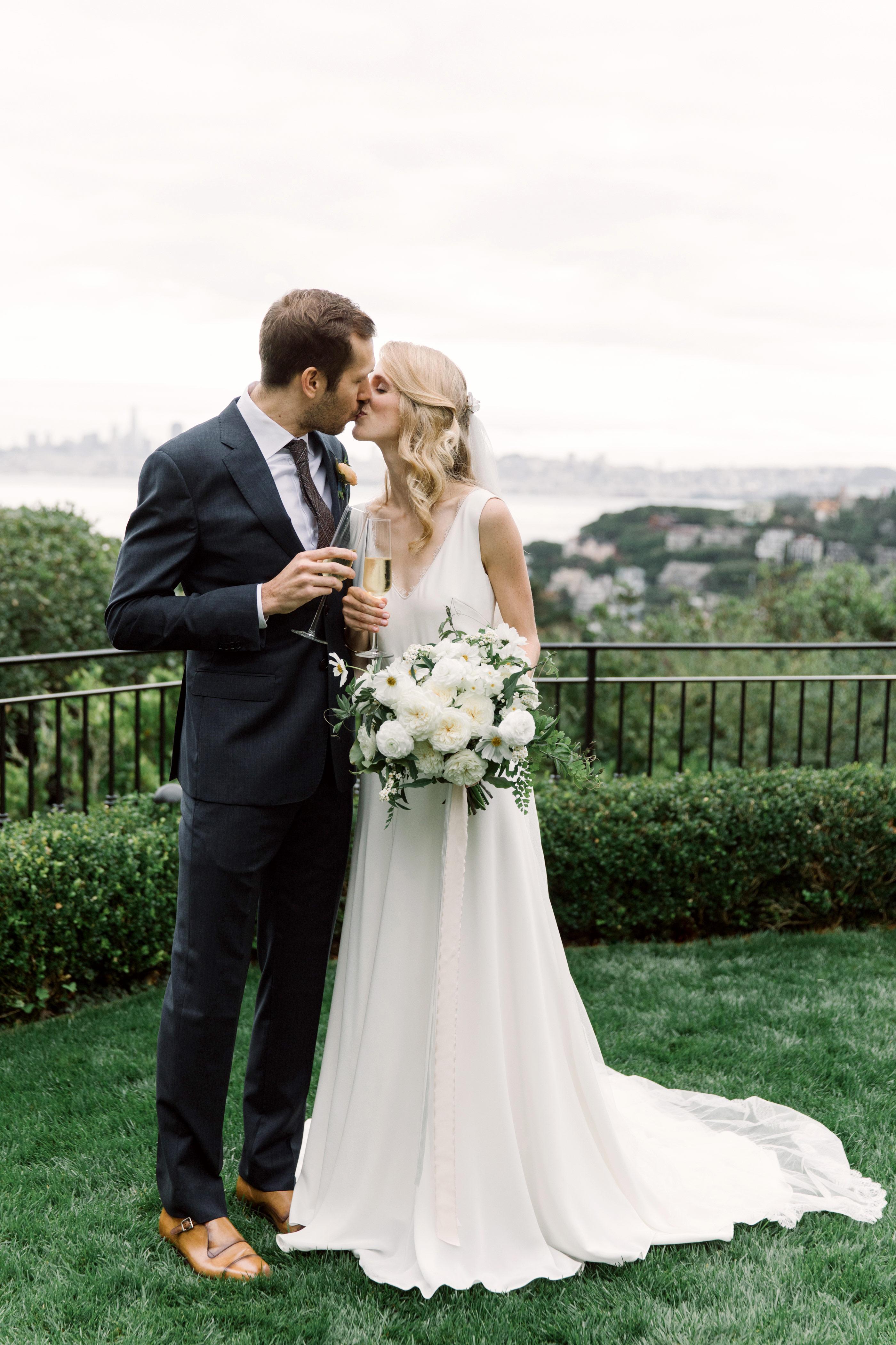 gillian marcus wedding couple