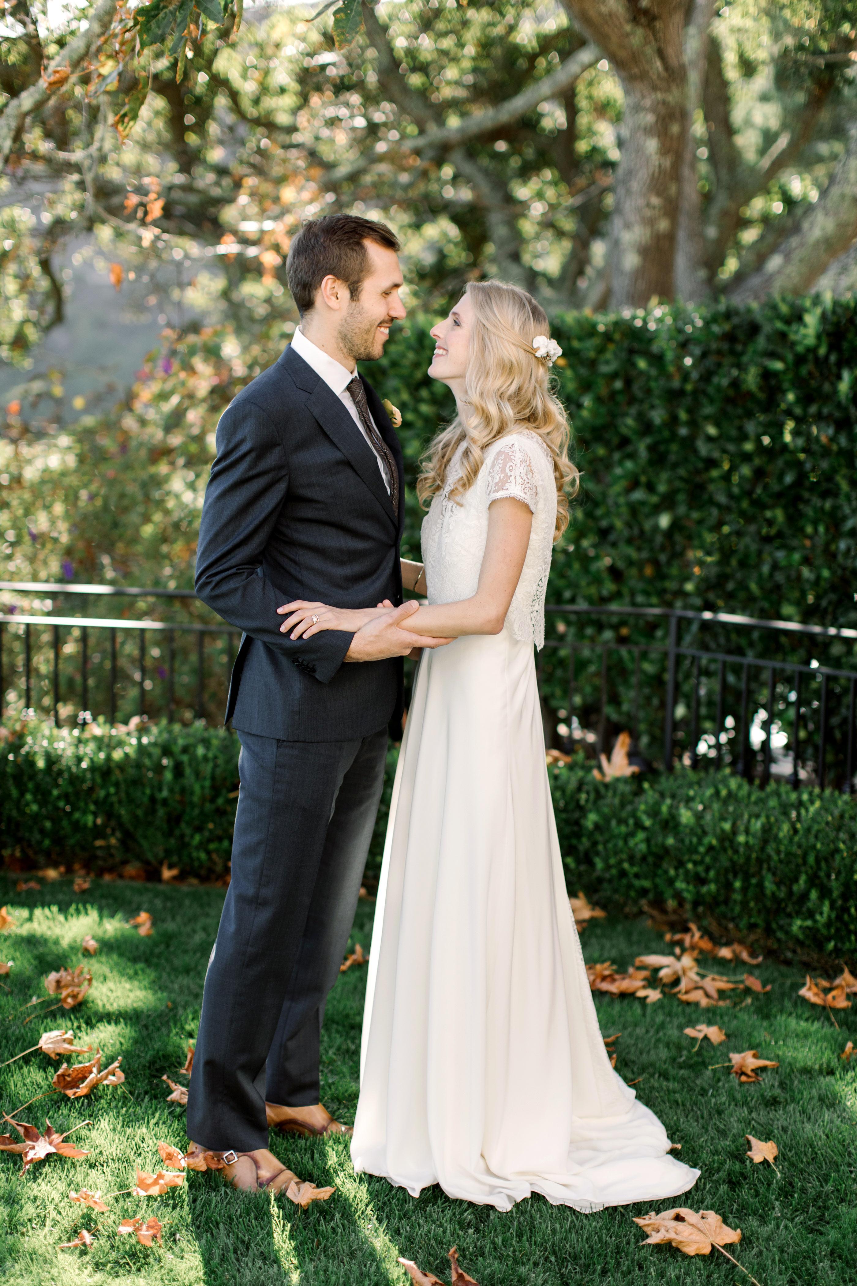 gillian marcus wedding couple hug