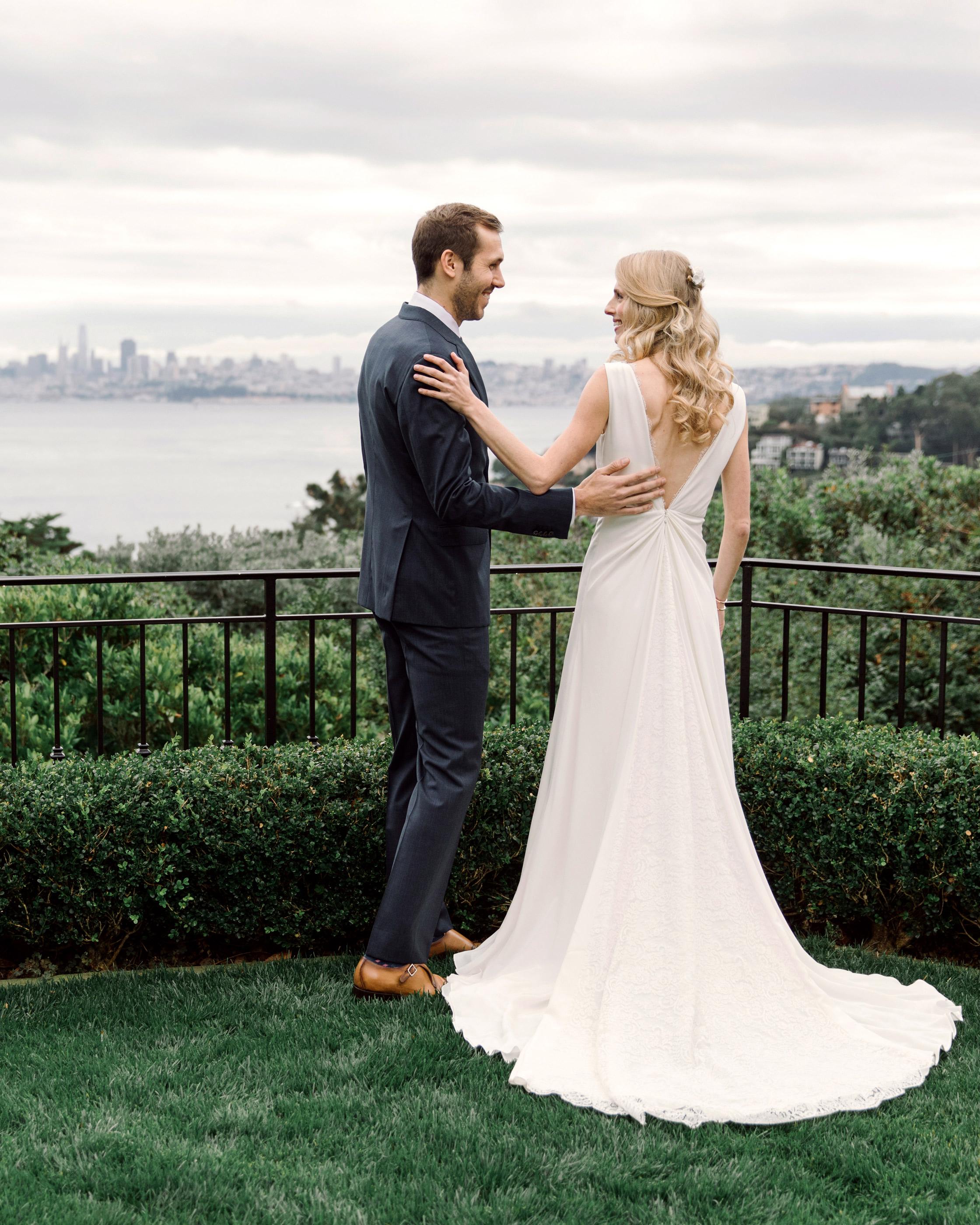 gillian marcus wedding first look