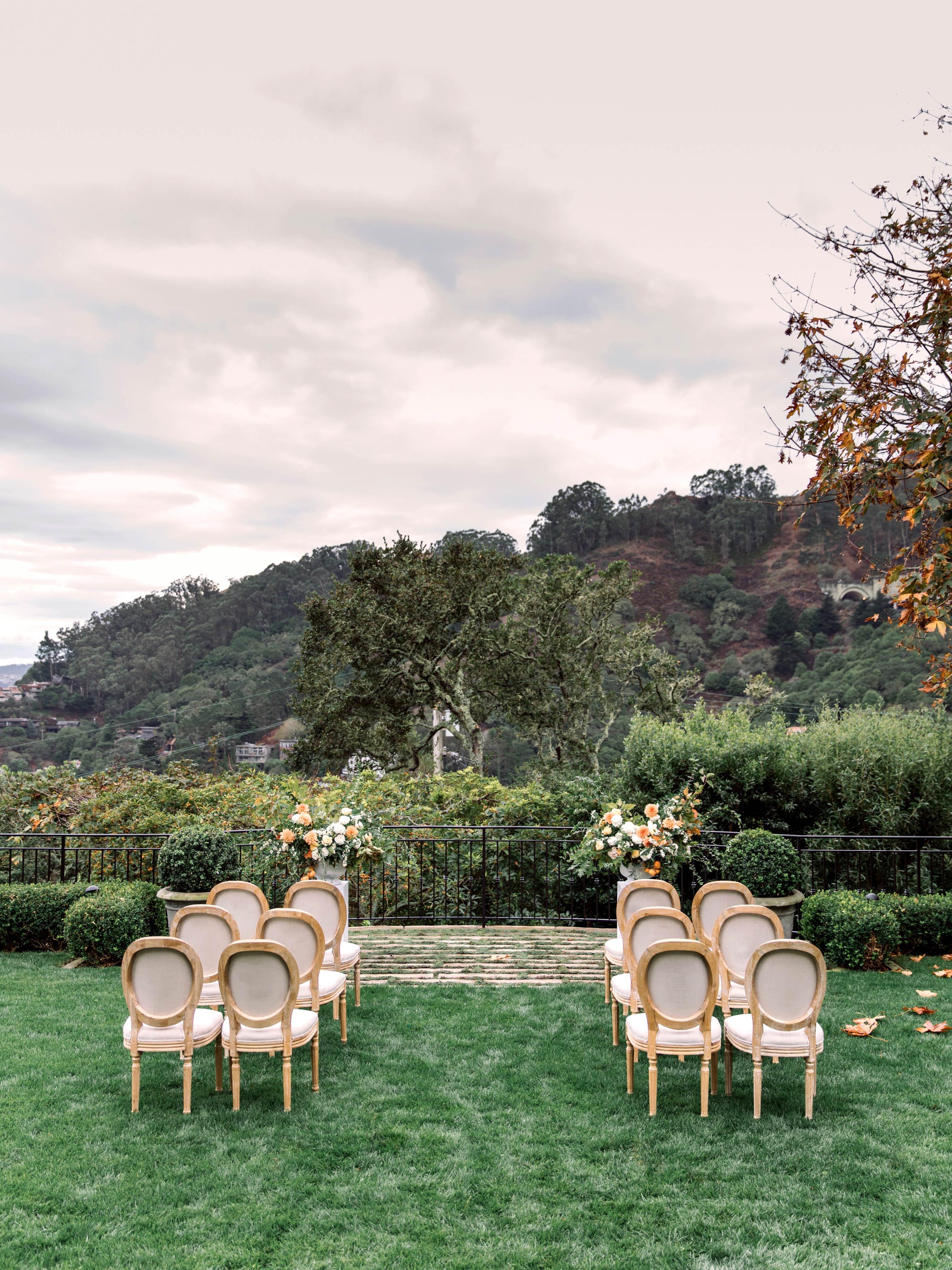 gillian marcus wedding ceremony