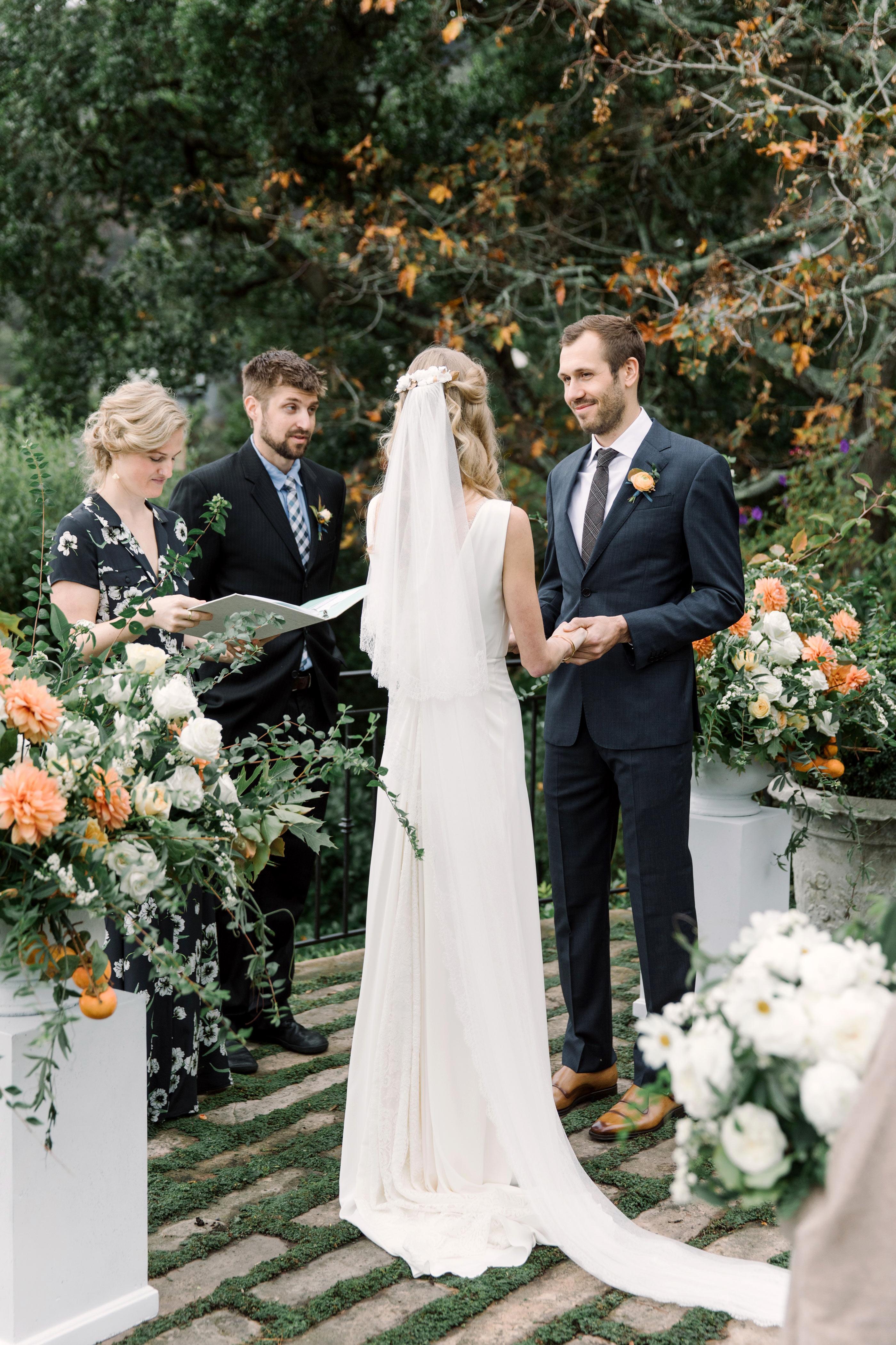gillian marcus wedding ceremony vows