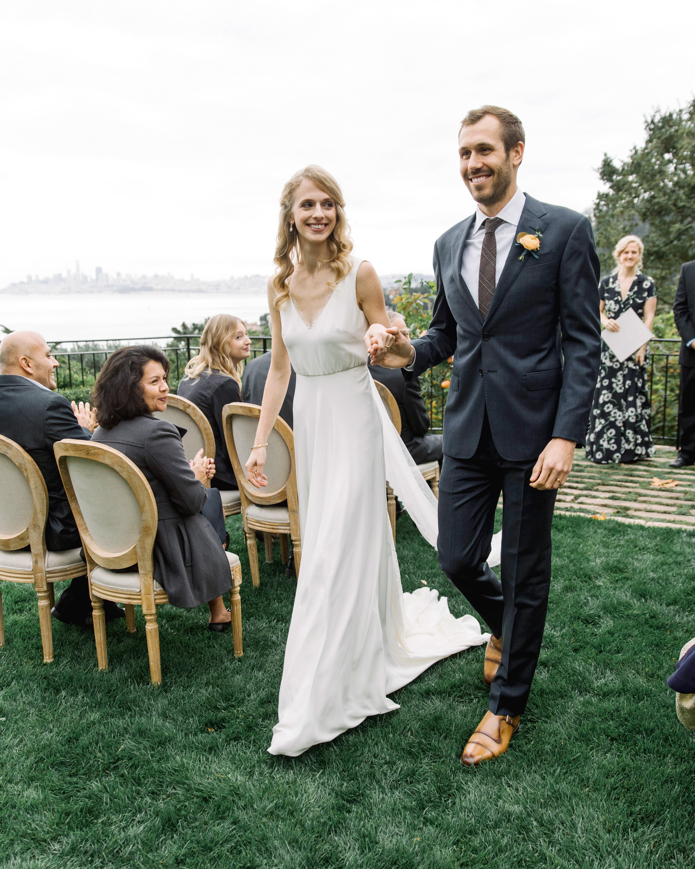 gillian marcus wedding recessional