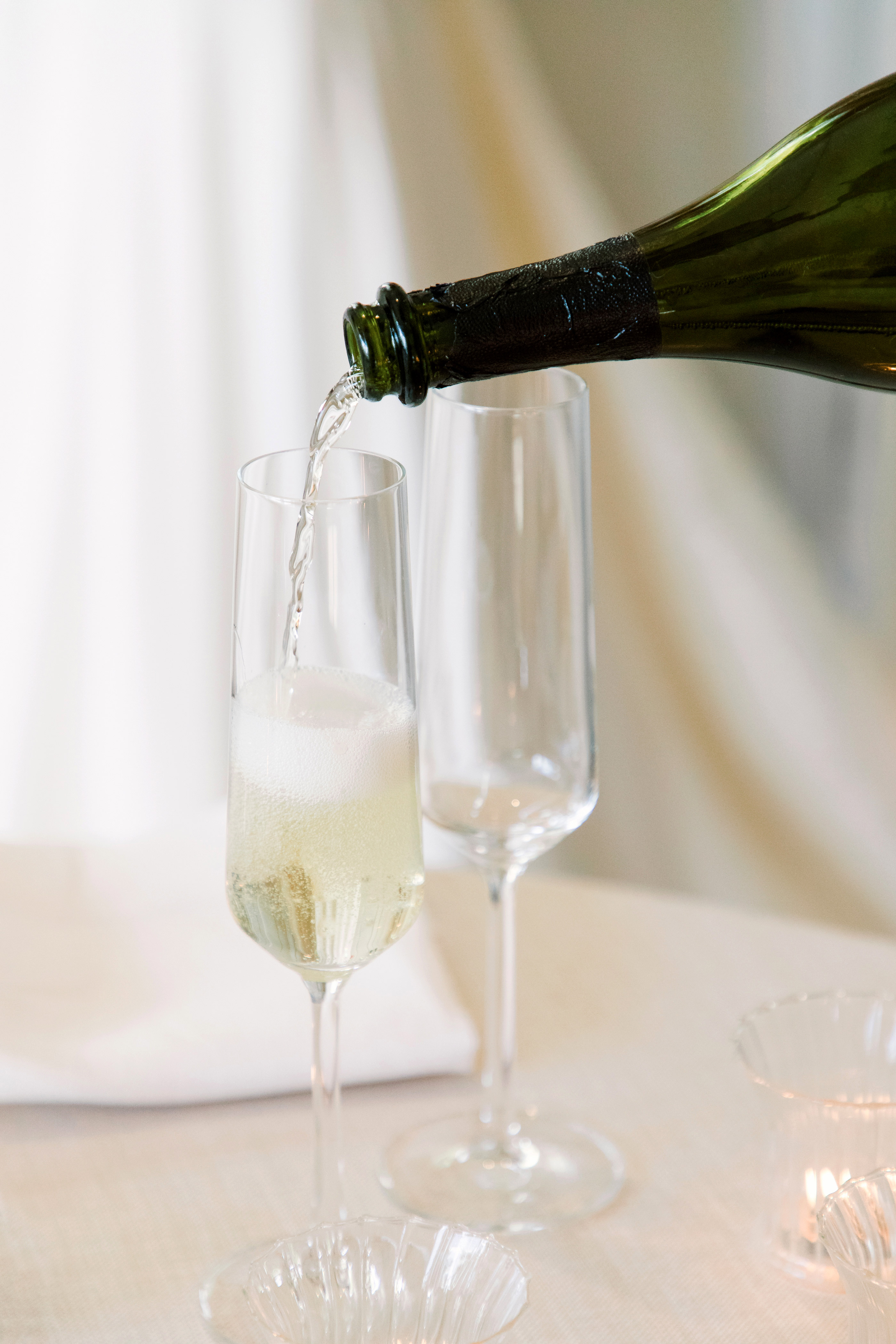 gillian marcus wedding champagne