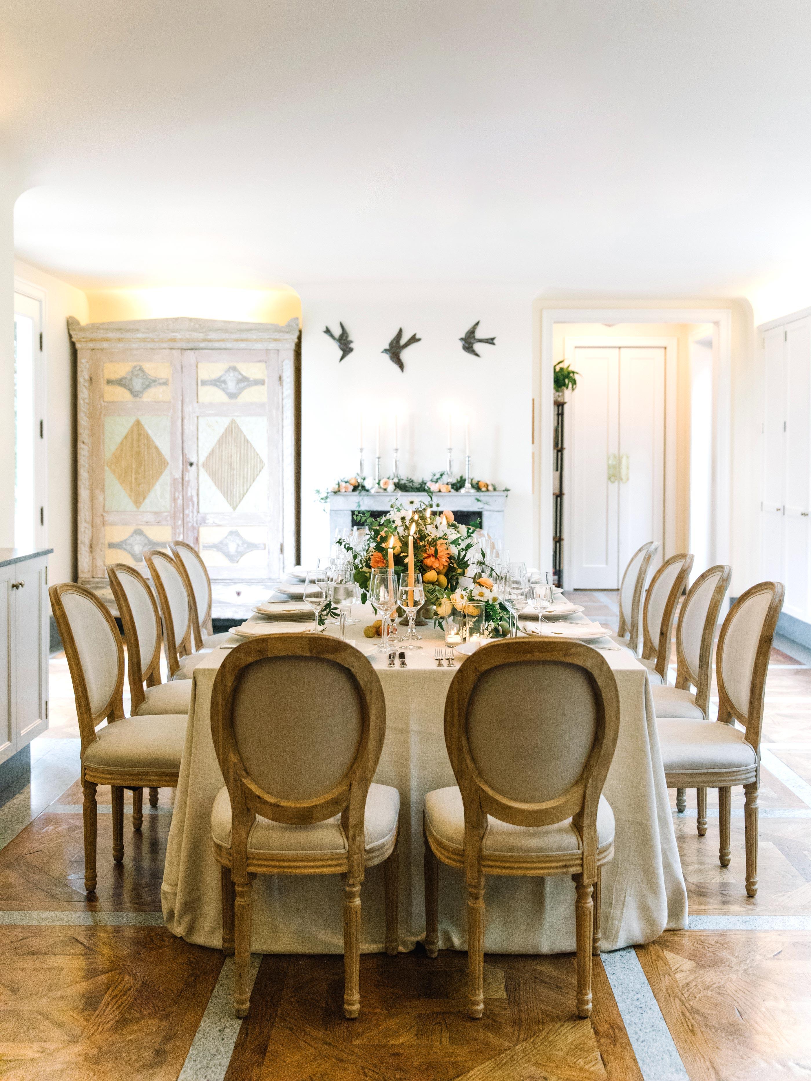 gillian marcus wedding table