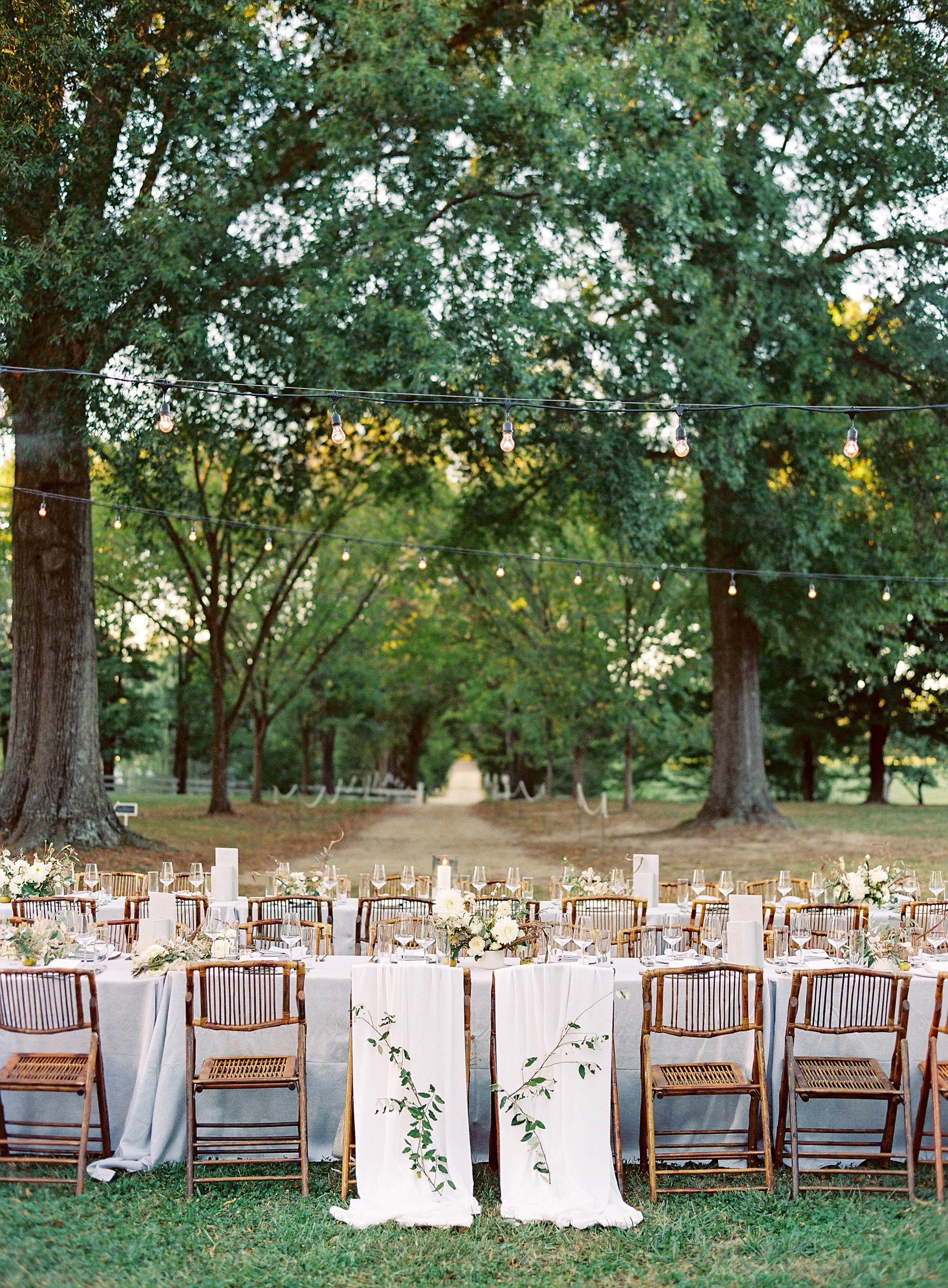 linda robert wedding chairbacks