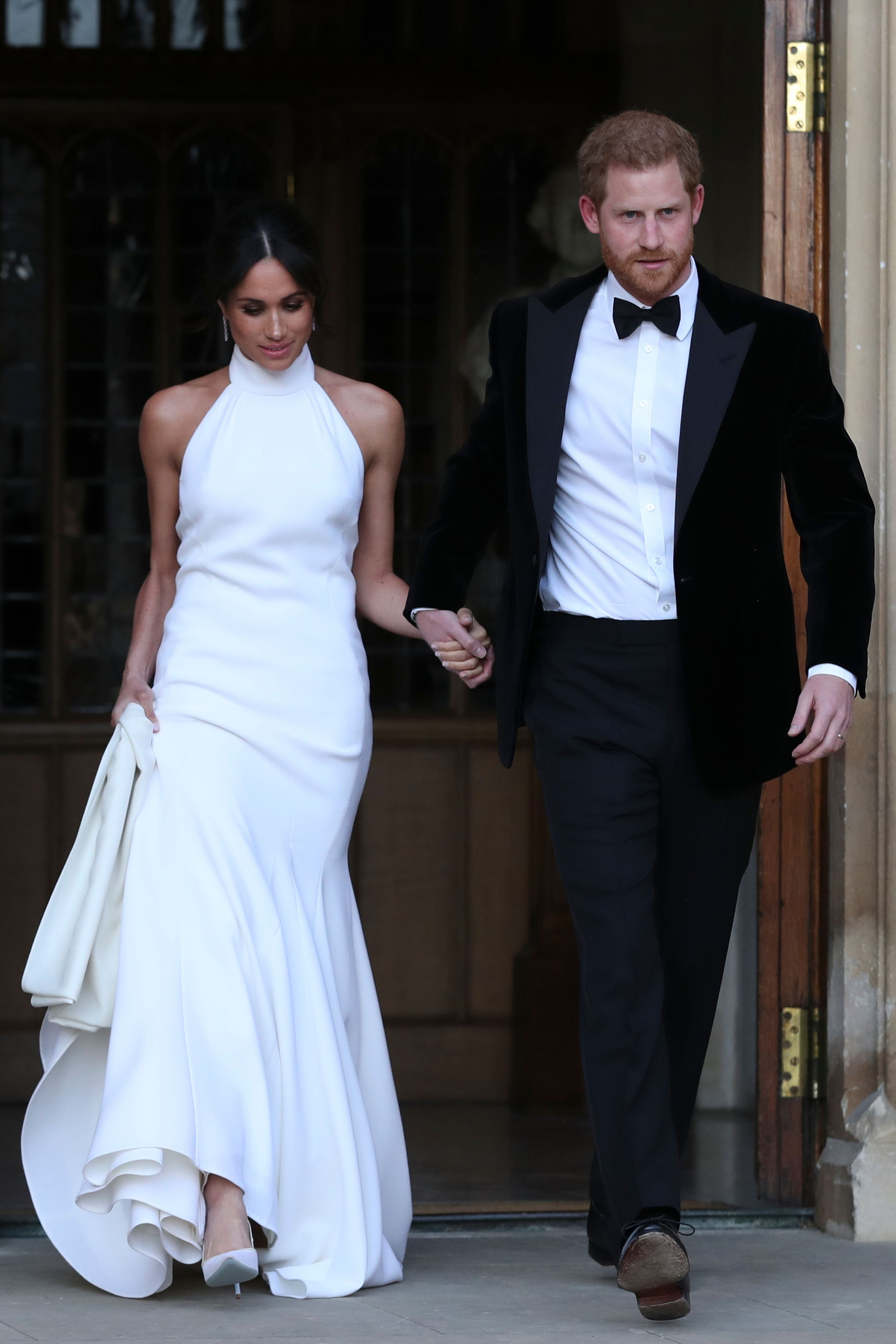 Meghan Markle Prince Harry Second Look Royal Wedding 2018