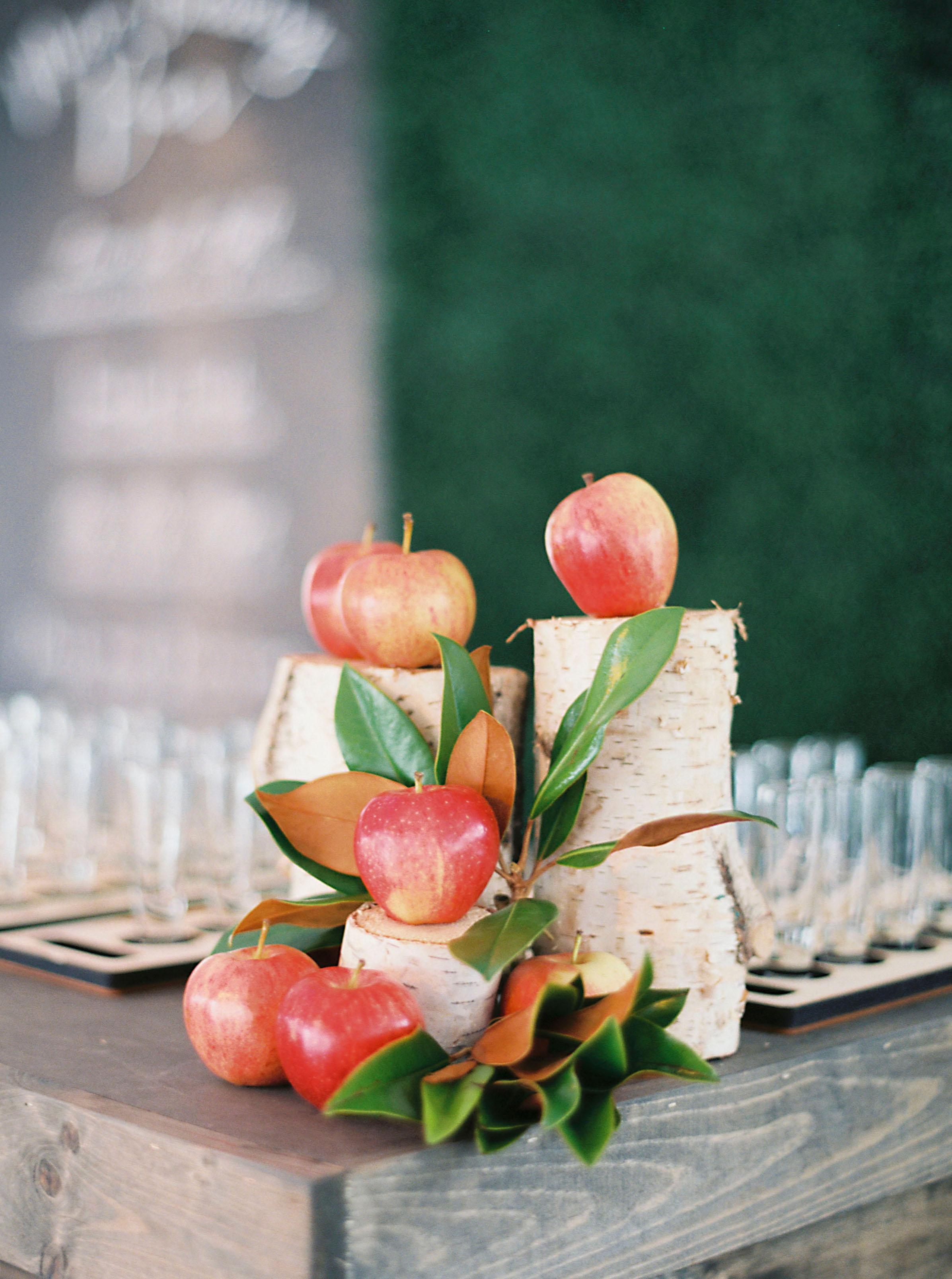 apple wedding ideas sarah kate