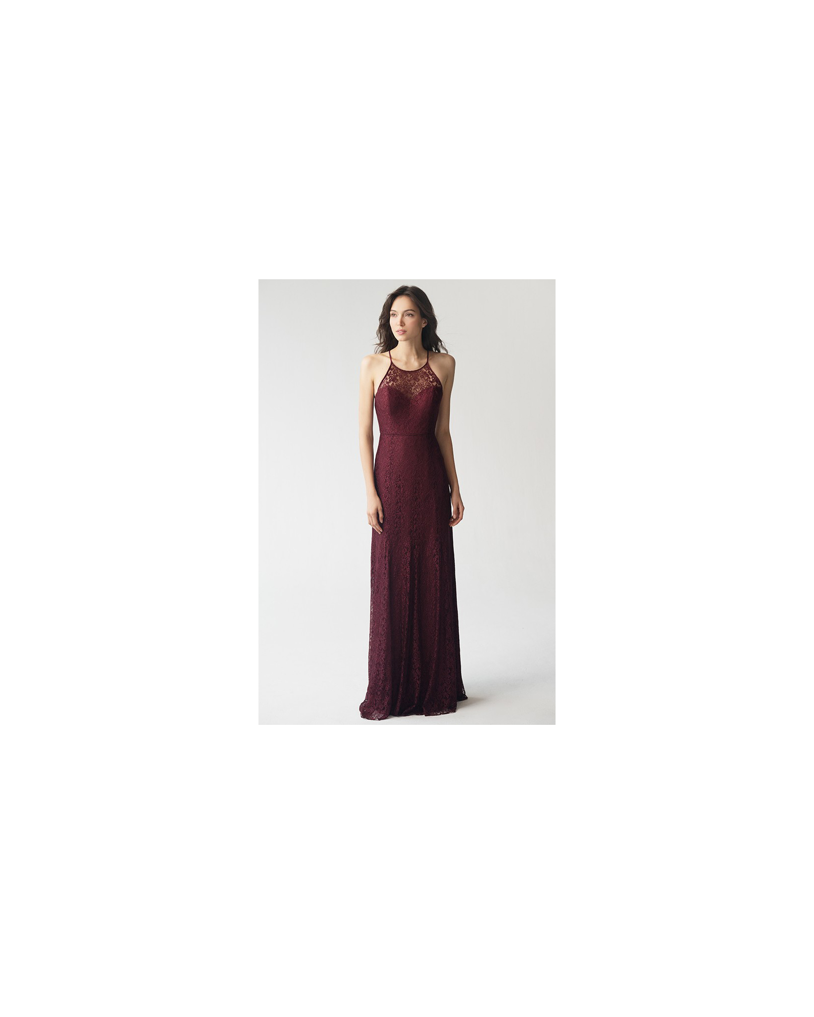 lace bridesmaid dresses jenny yoo