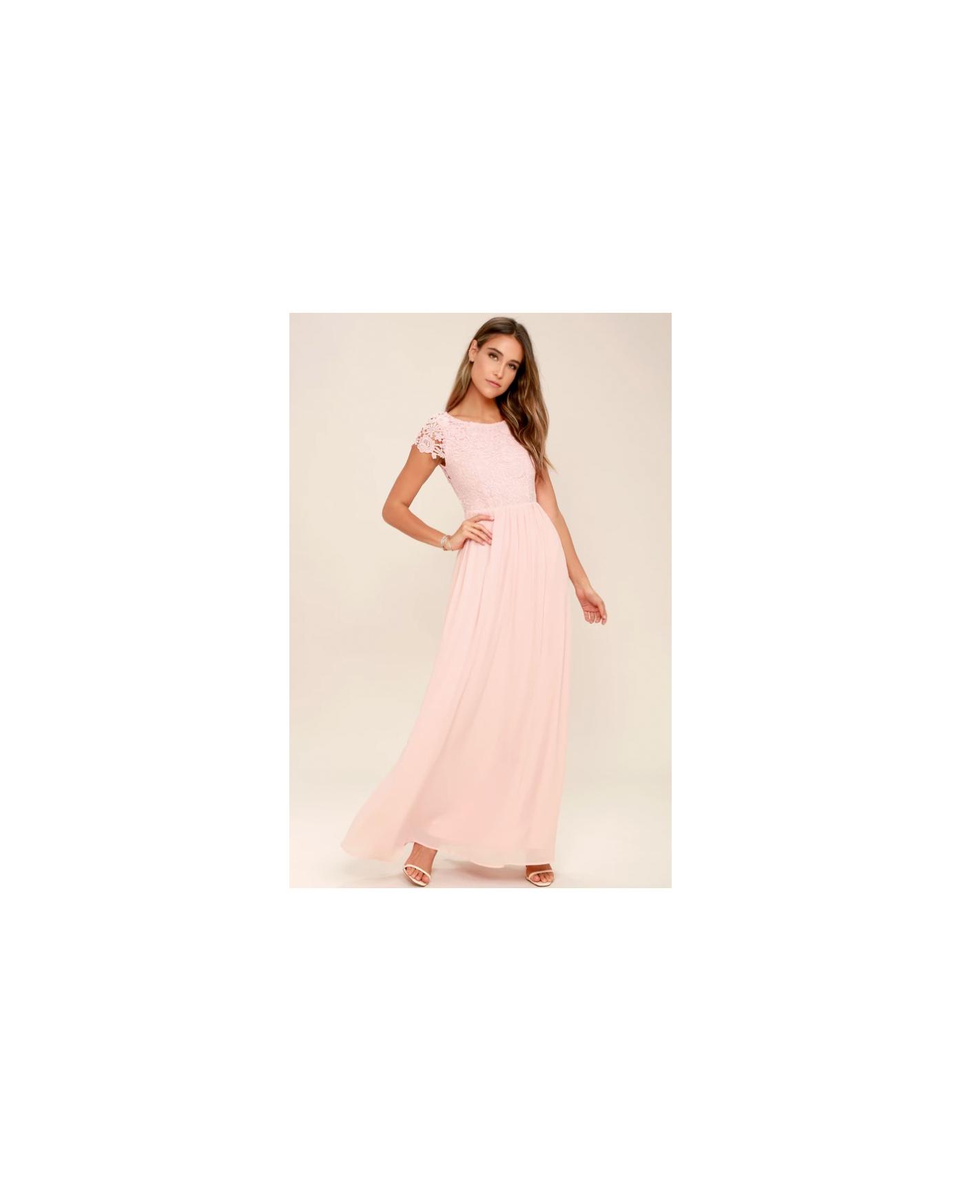 lace bridesmaid dresses lulus pink