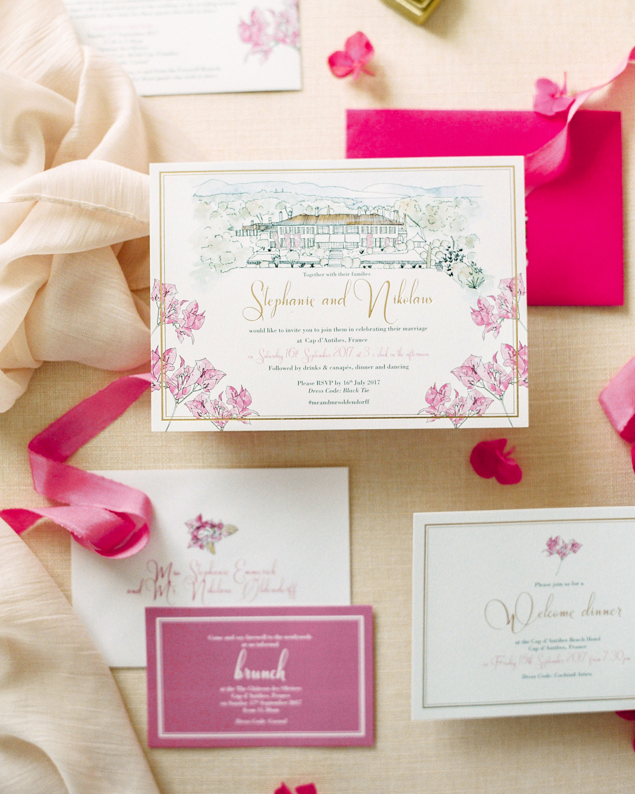 stephanie nikolaus wedding invitation edit