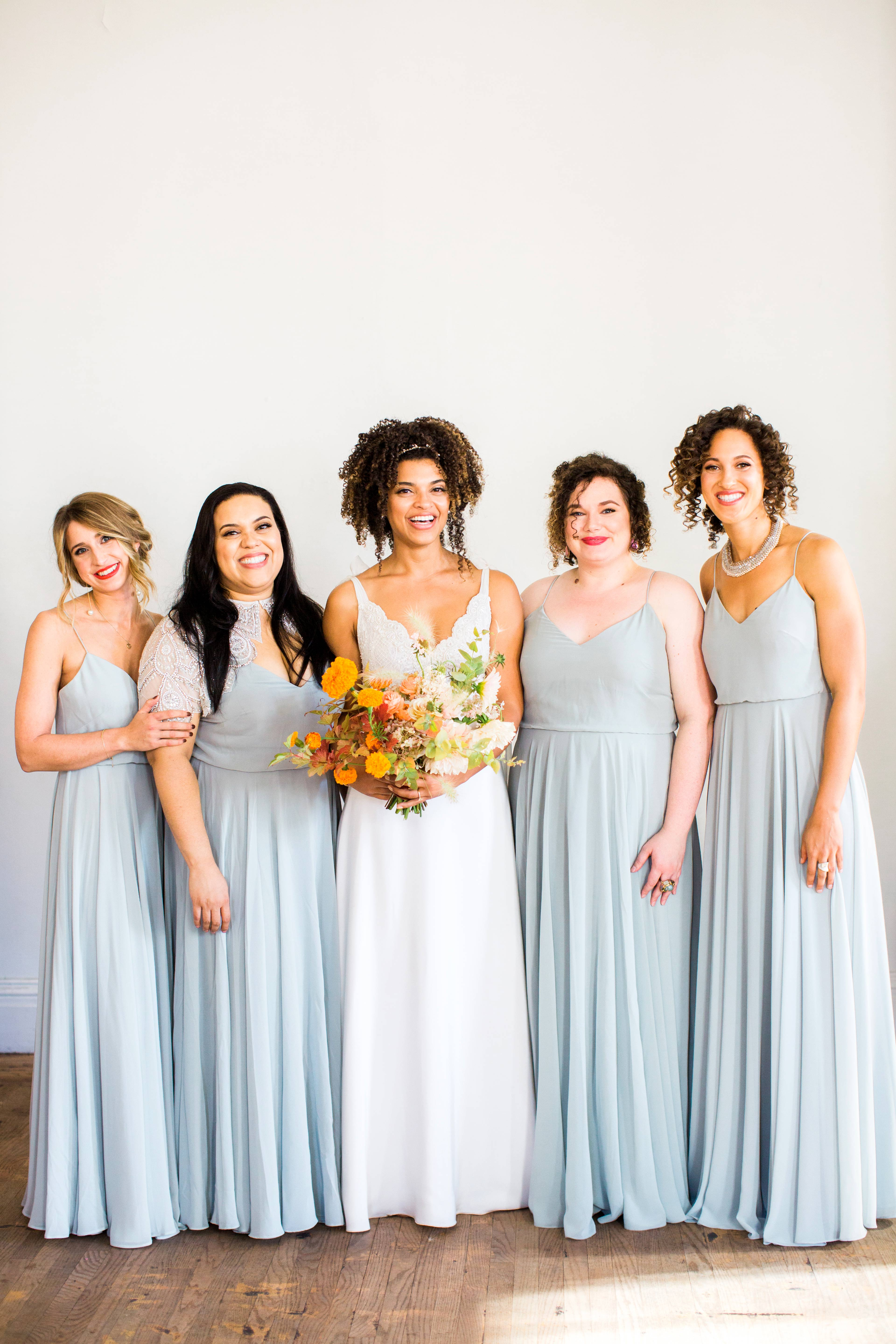 natalie louis wedding bridesmaids