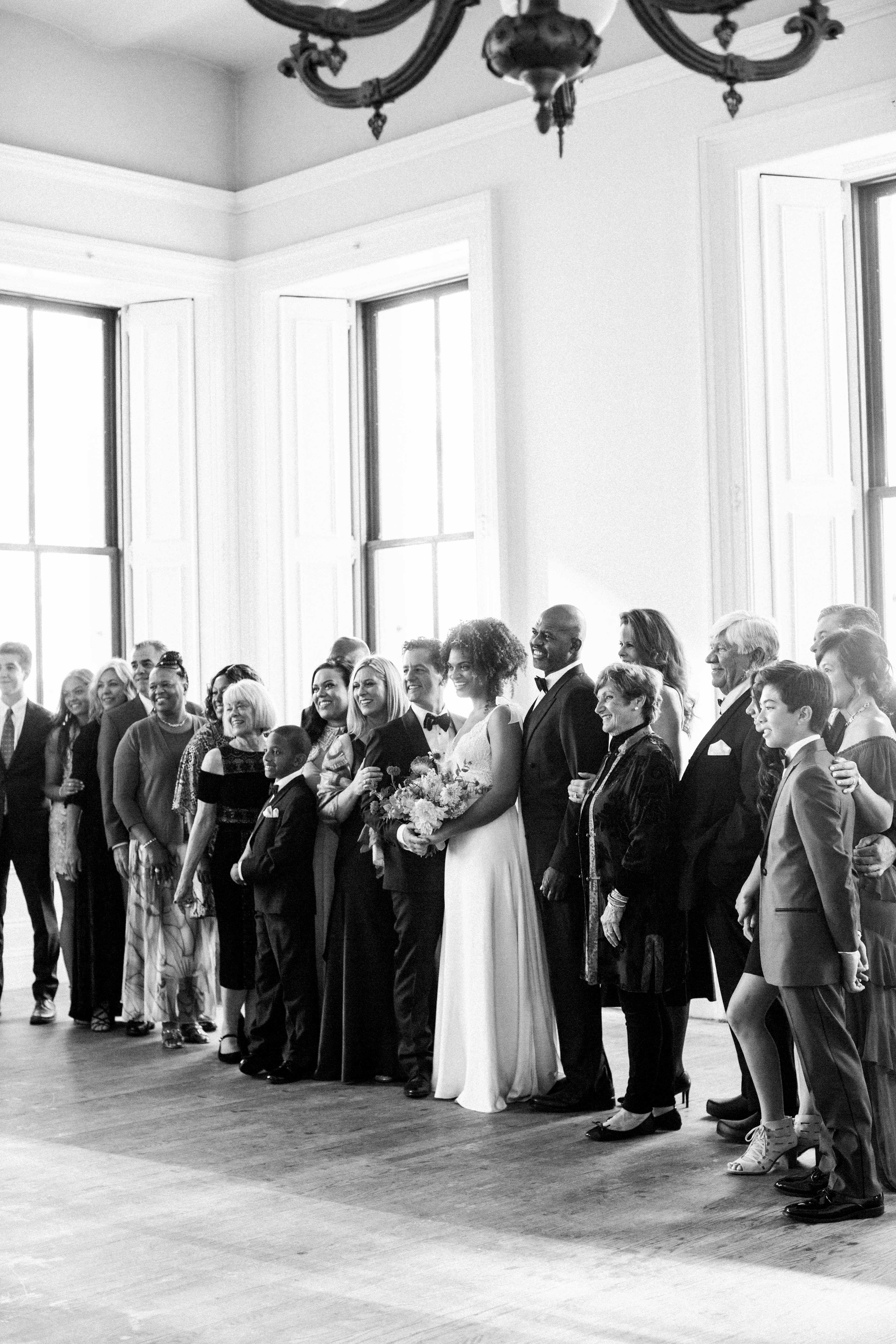 natalie louis wedding group photo